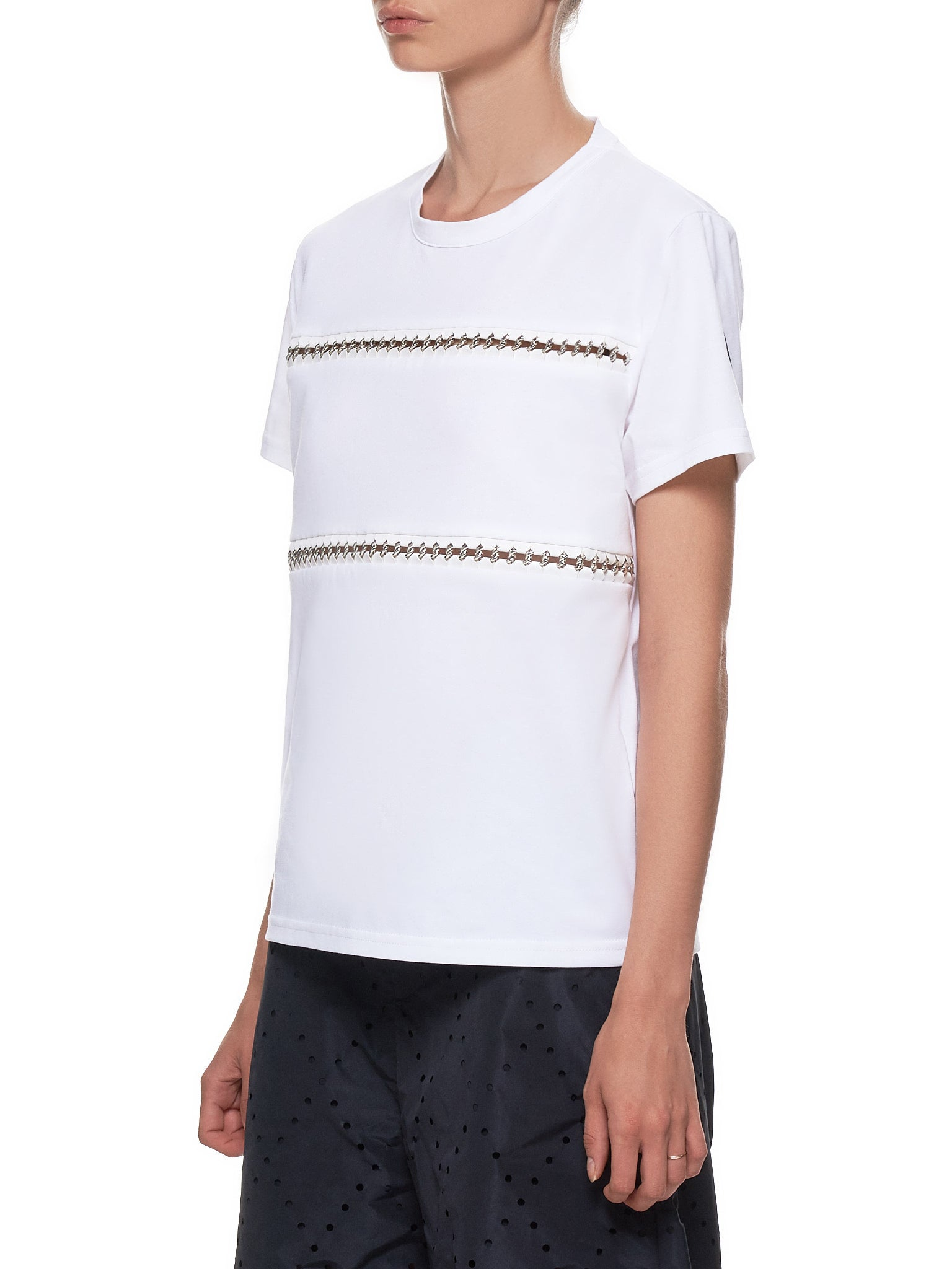 Chain Link T-Shirt (E1-09F-80526-00-829EE-WHITE)