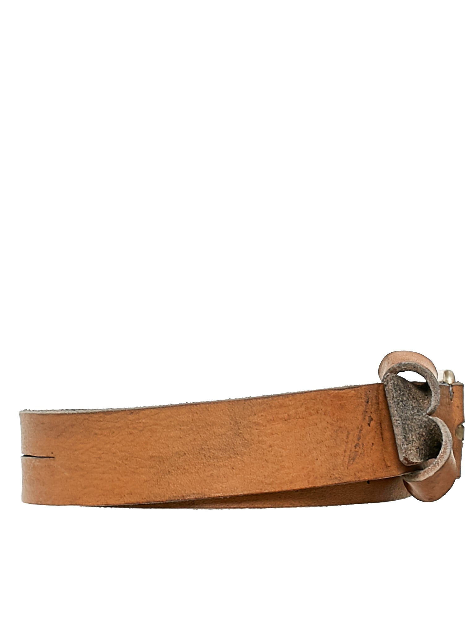 Long Leather Belt (ED2E-GRD-3-0-GREY)