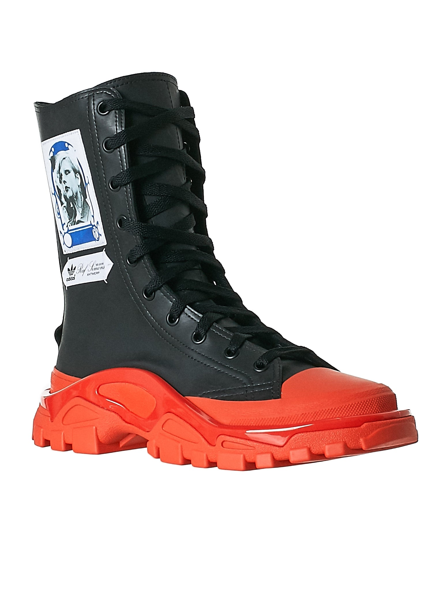 Adidas Raf Simons Black Boot - Hlorenzo Side