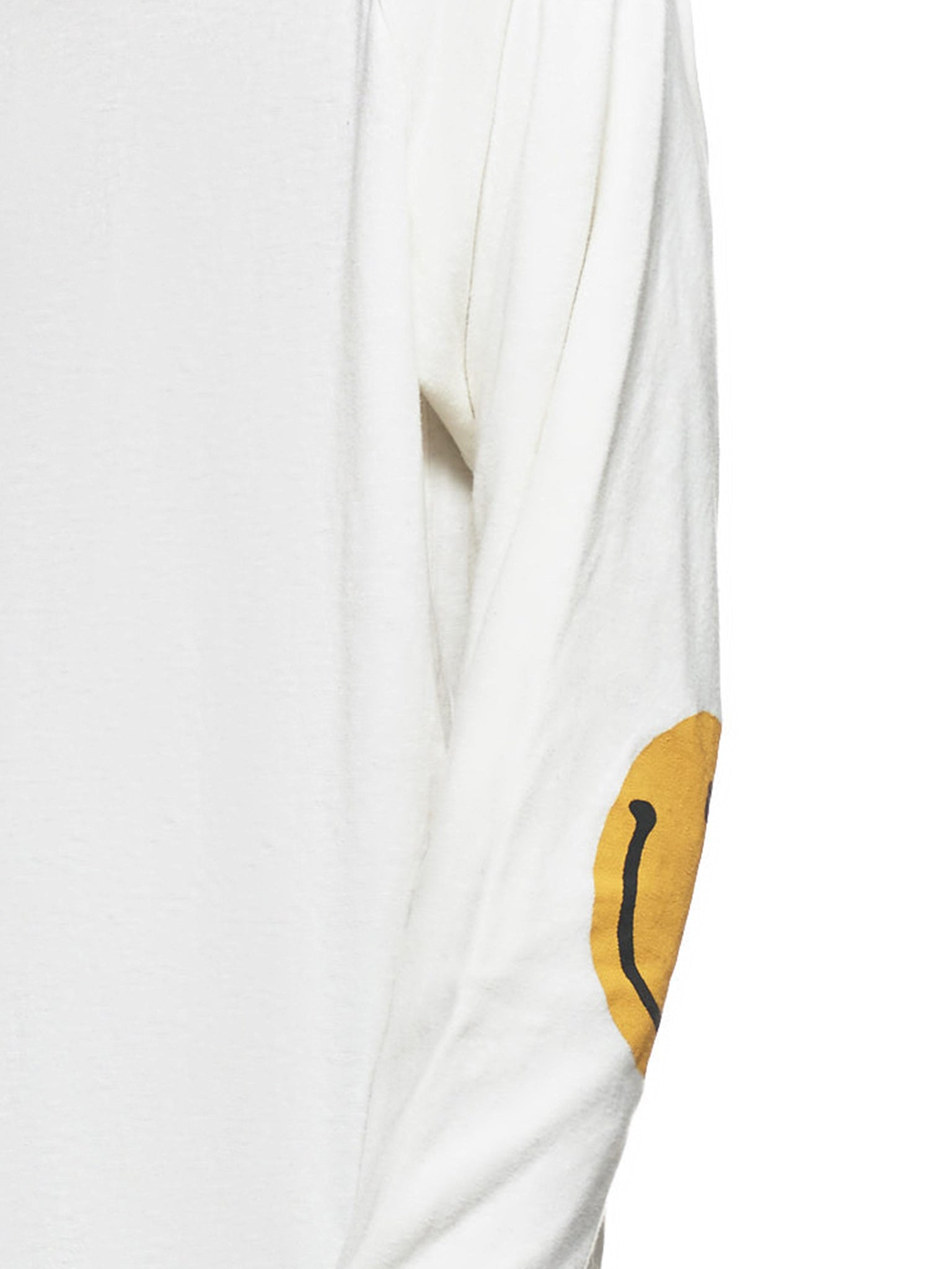 Smiley Face Long Sleeve Shirt (EK-859-WHITE)