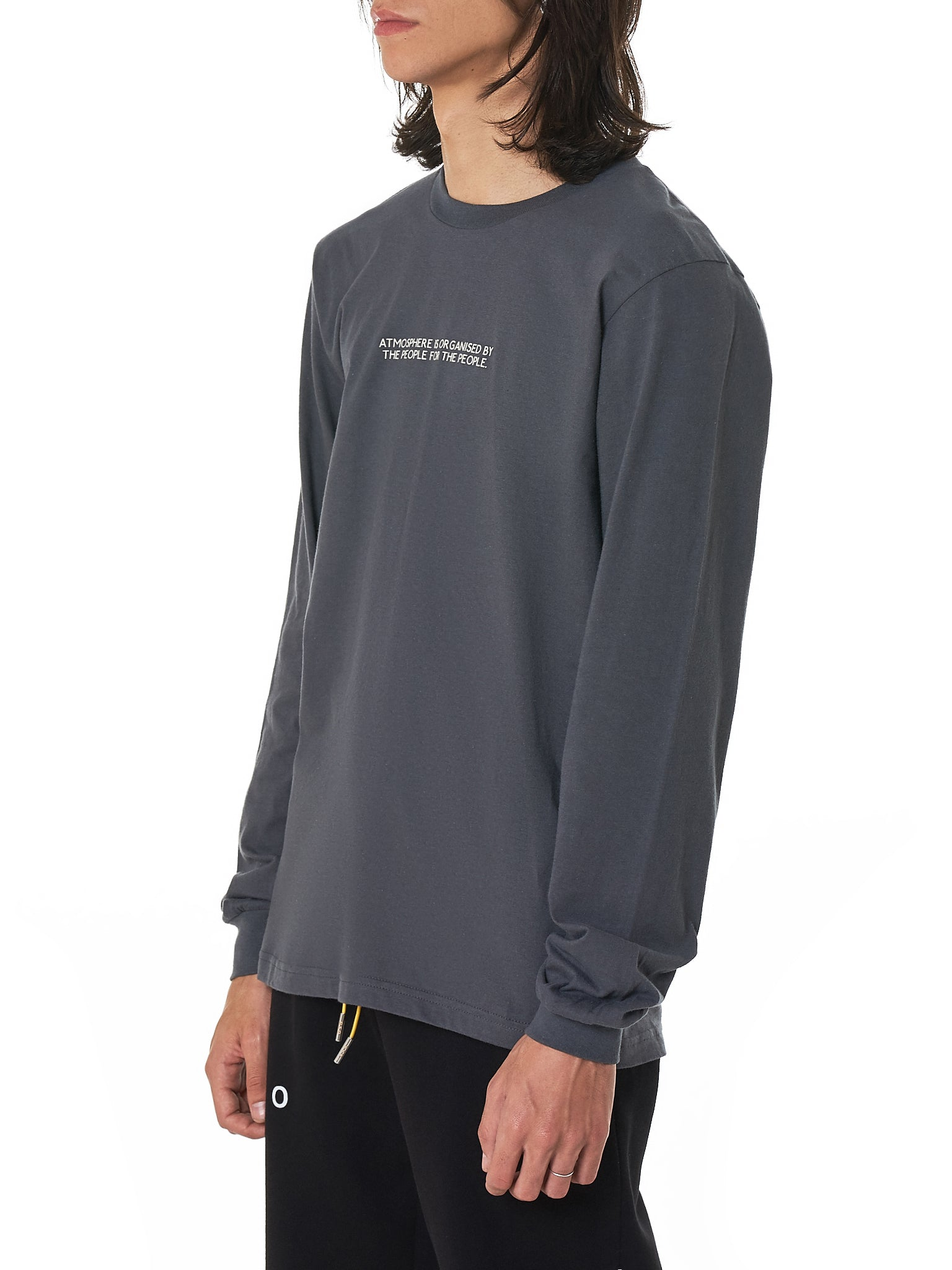 Geo Long-Sleeve Tee Shirt - Hlorenzo Side