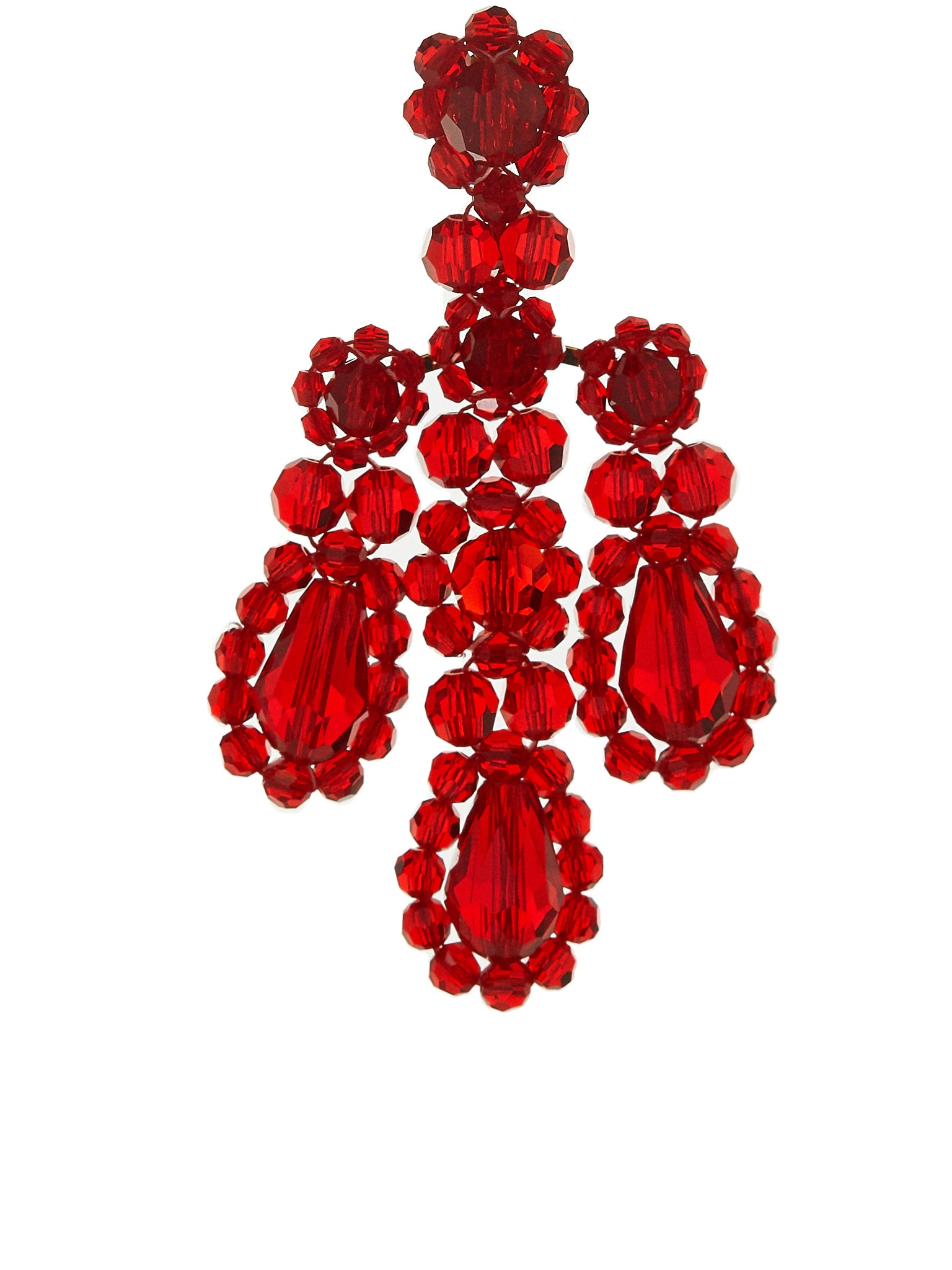 Simone Rocha Earrings - Hlorenzo Front Detail