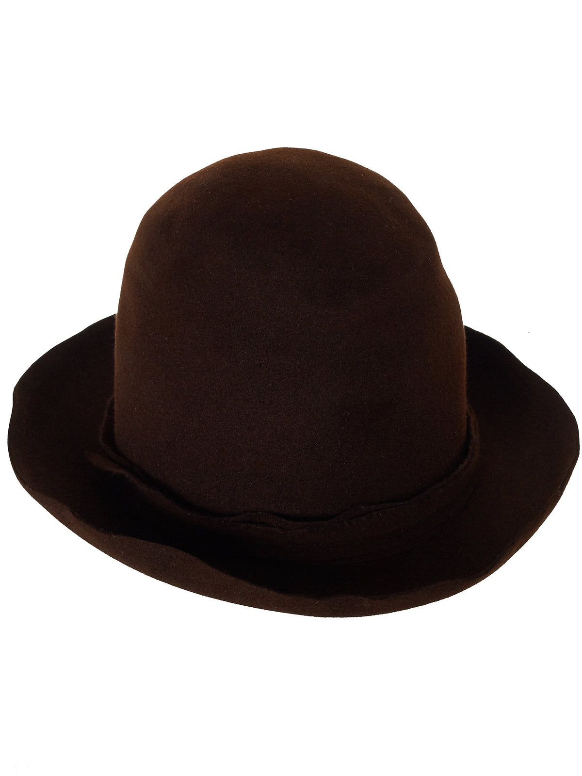 Long Crown Hat (EXTRA-HIGH-UNIQ-B#2-BROWN)