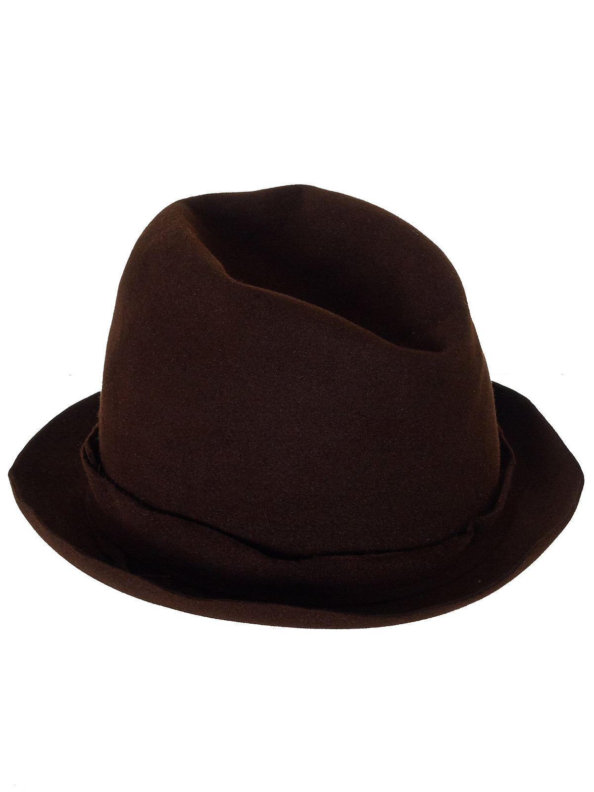 'Traveller' Long Crown Hat (EXTRA-HIGH-UNIQ-SM-B#3-BROWN)