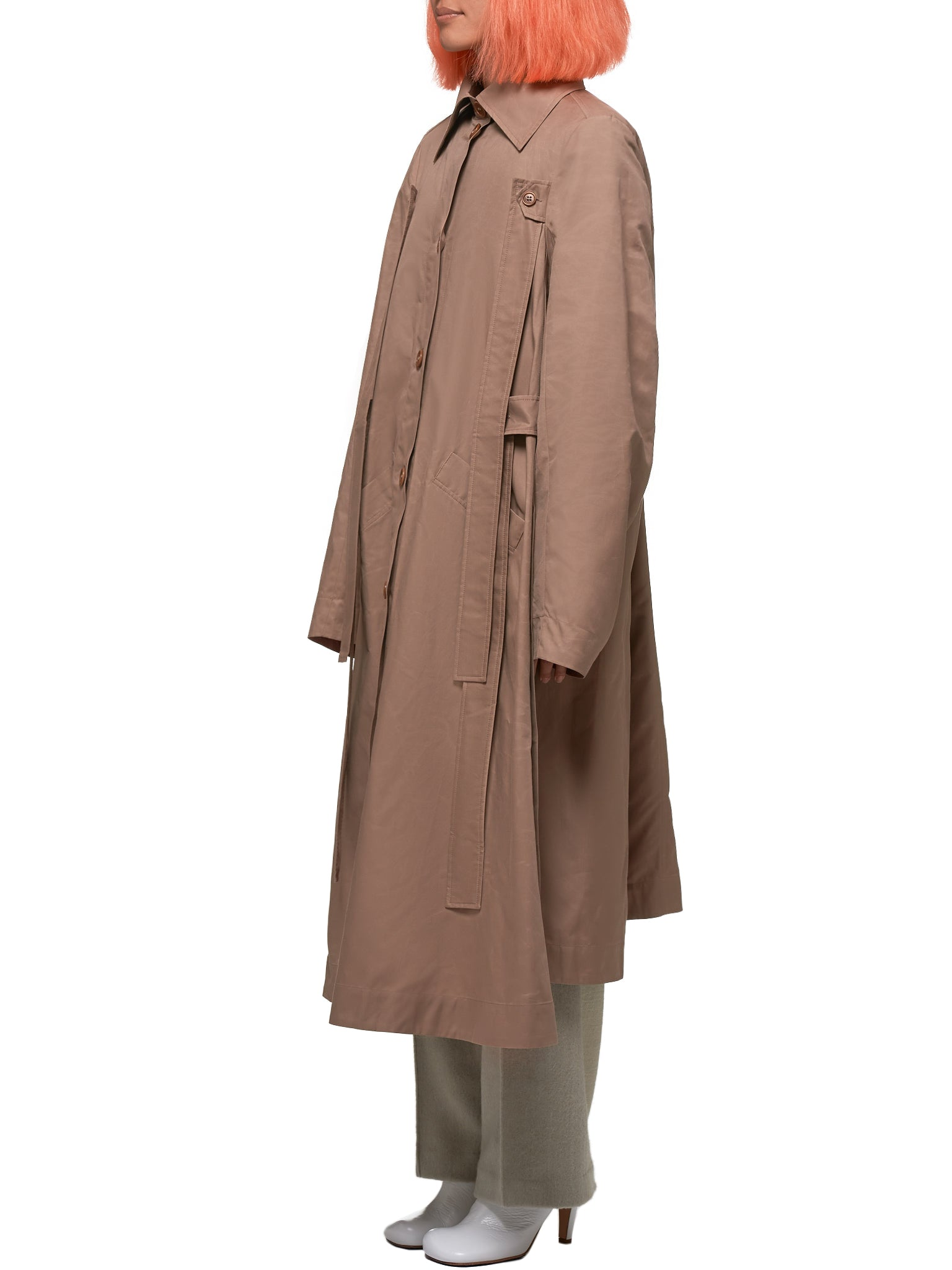 Henrik Vibskov Coat - Hlorenzo Side