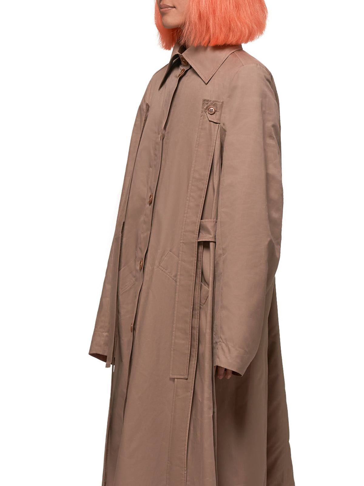 Onion Trench Coat (F606-ONION-TRENCH-SAND)