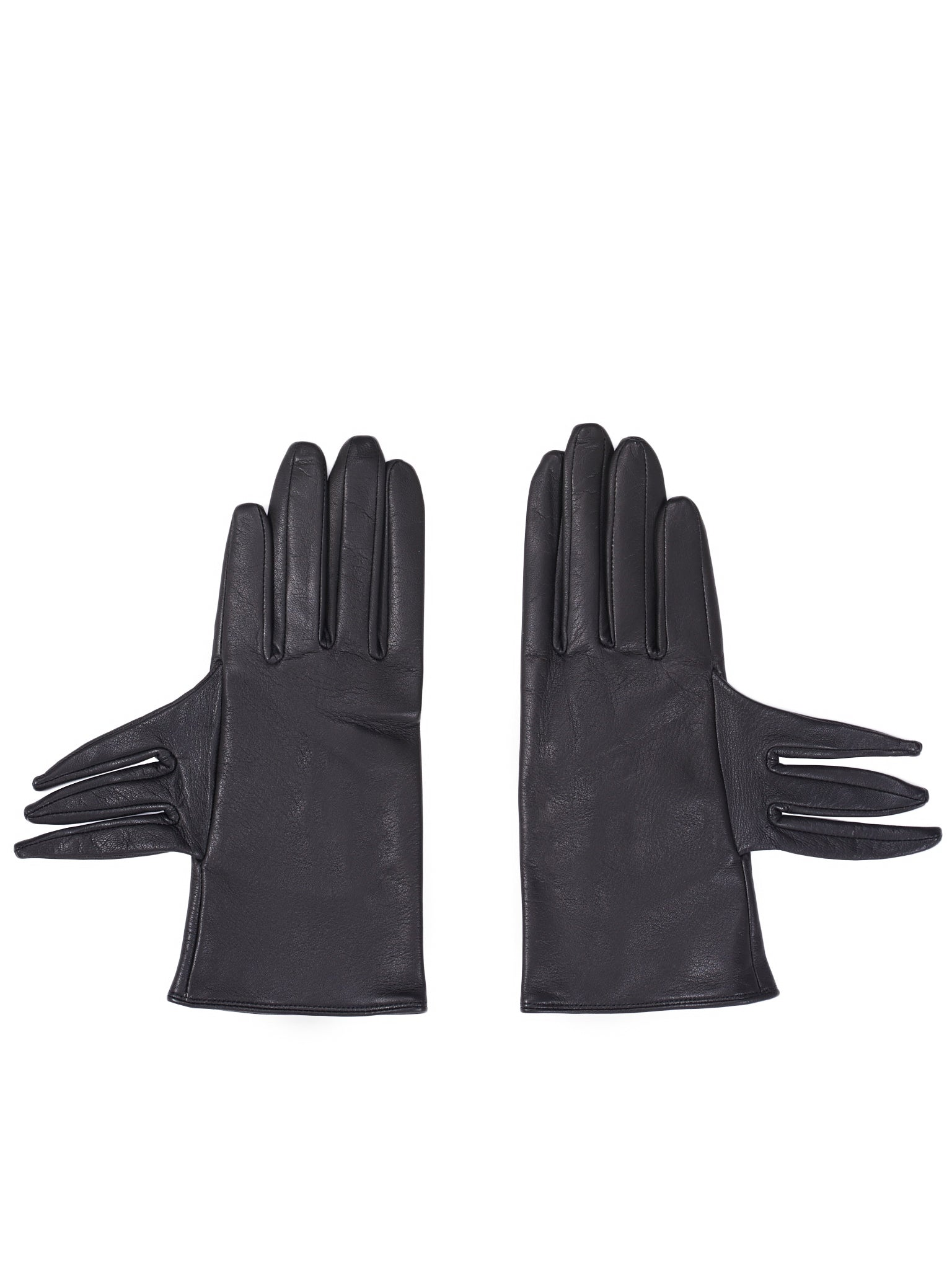 Lambskin Gloves (FC-W03-771-BLACK)