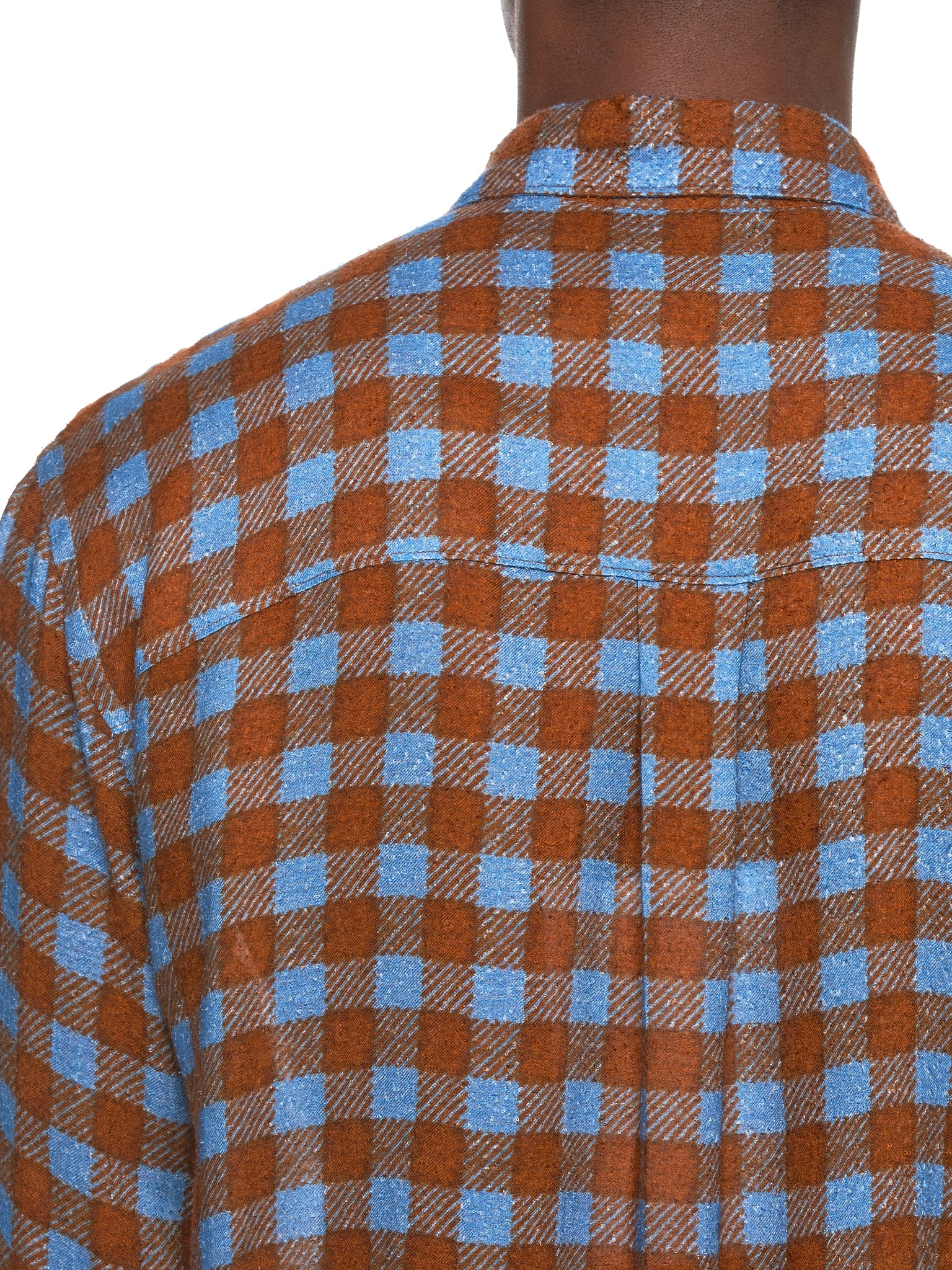 Federico Curradi Check Shirt - Hlorenzo Detail 2