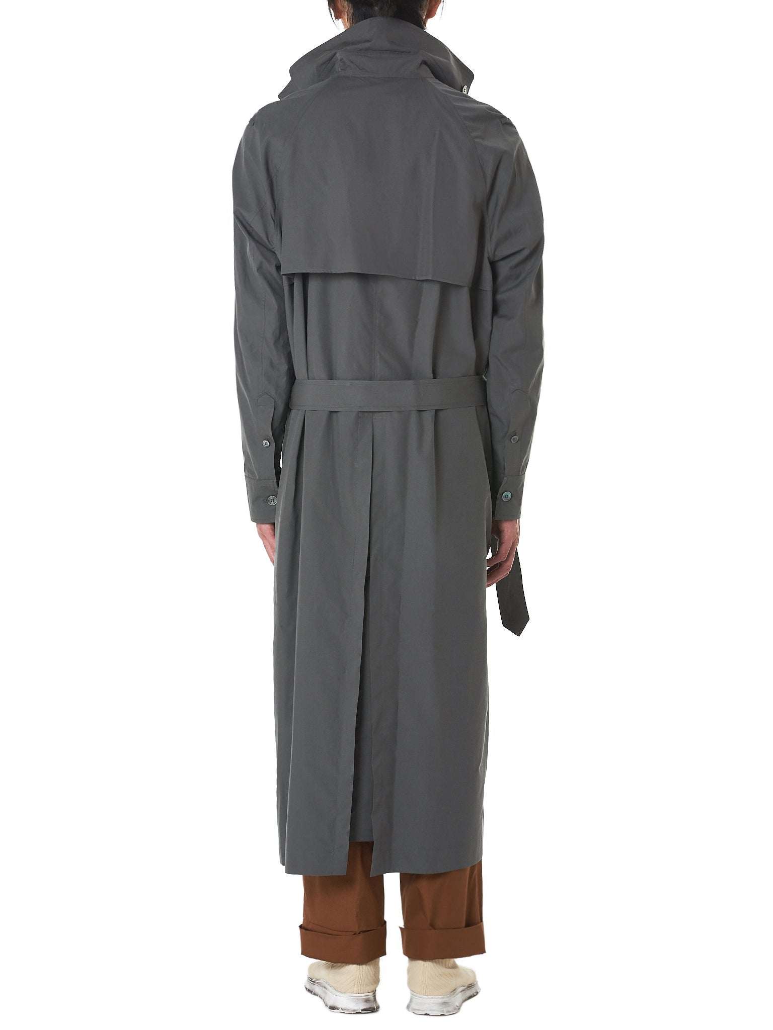 Federico Curradi Trench Coat - Hlorenzo Back