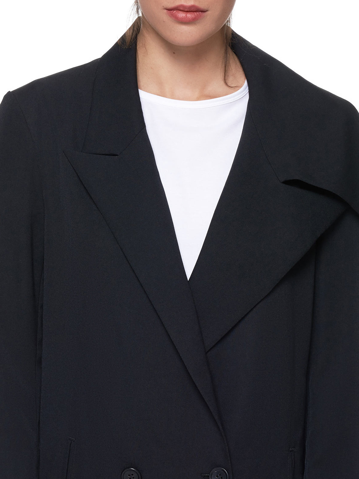 Maxi Over-Coat (FH-C02-100-BLACK)