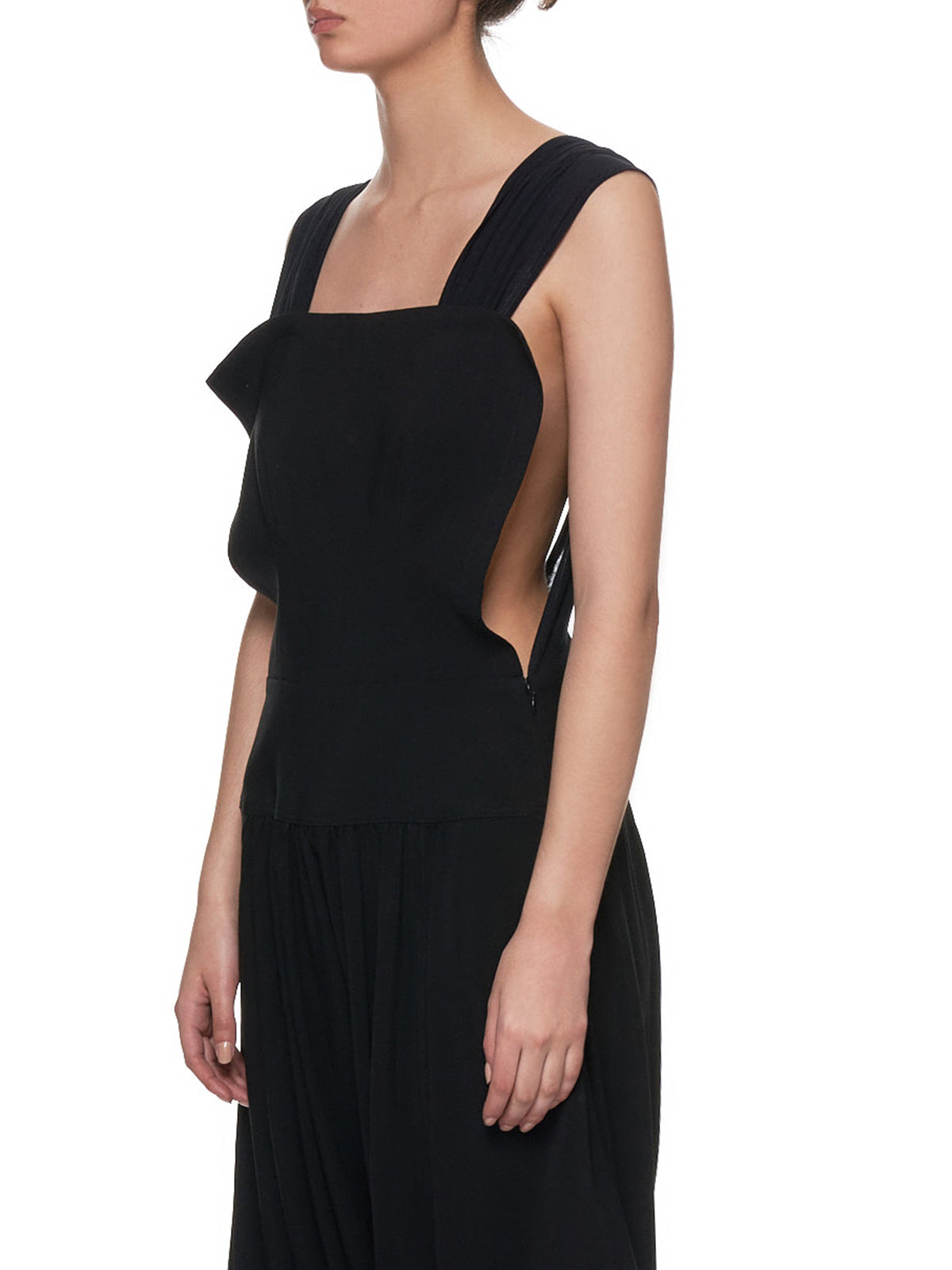 Sleeveless Jumpsuit (FH-D24-208-BLACK)