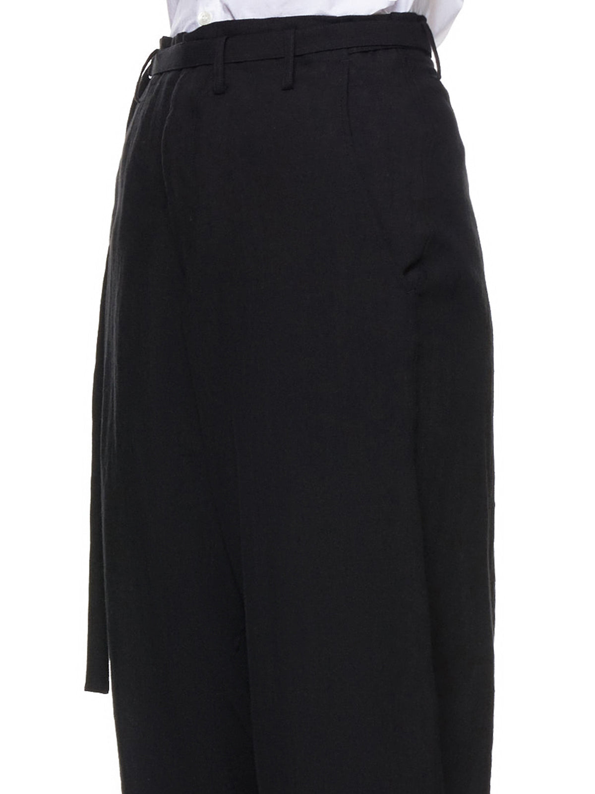 Wide Trousers (FH-P14-300-BLACK)