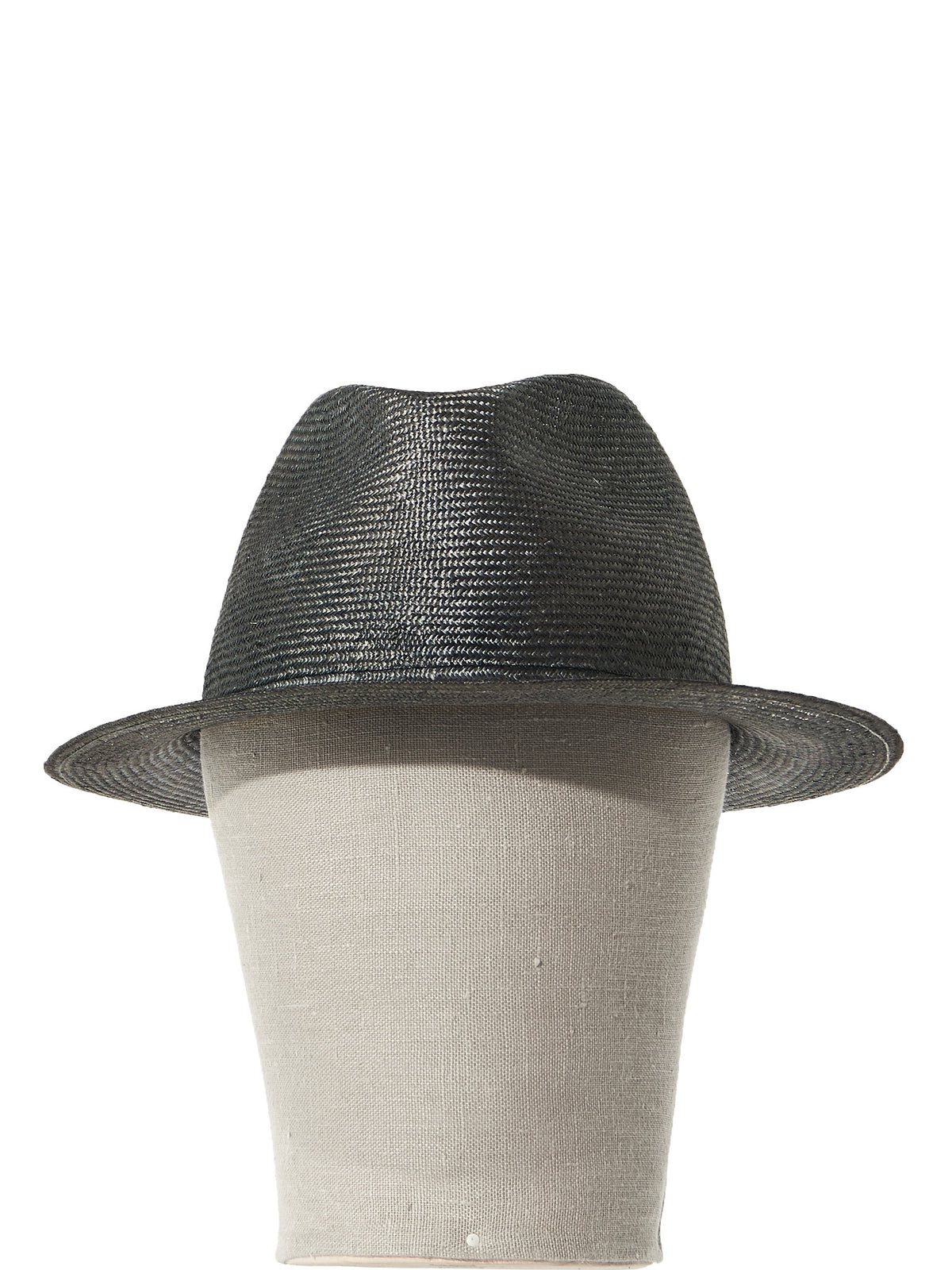Fitted Panama Hat (FRANCISCO STRAW PARA SILVER) - H. Lorenzo