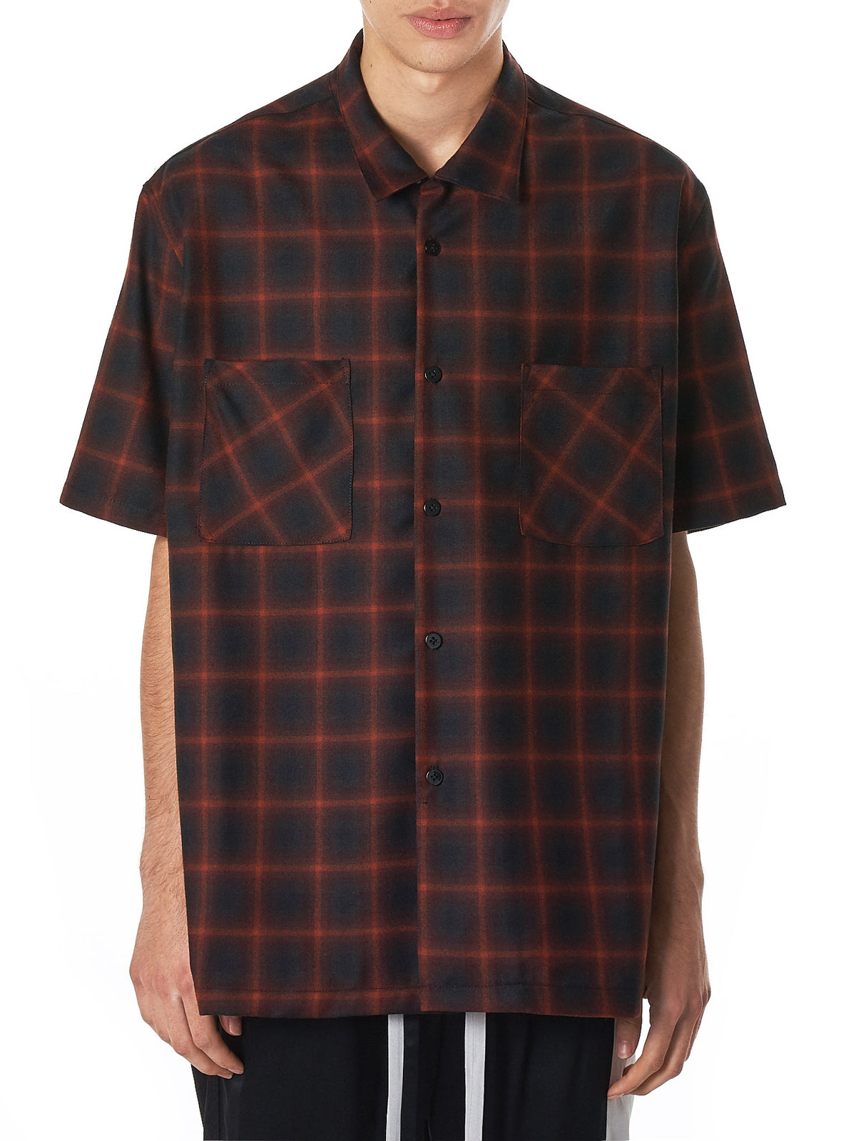 Nahmias Plaid Shirt - Hlorenzo Front