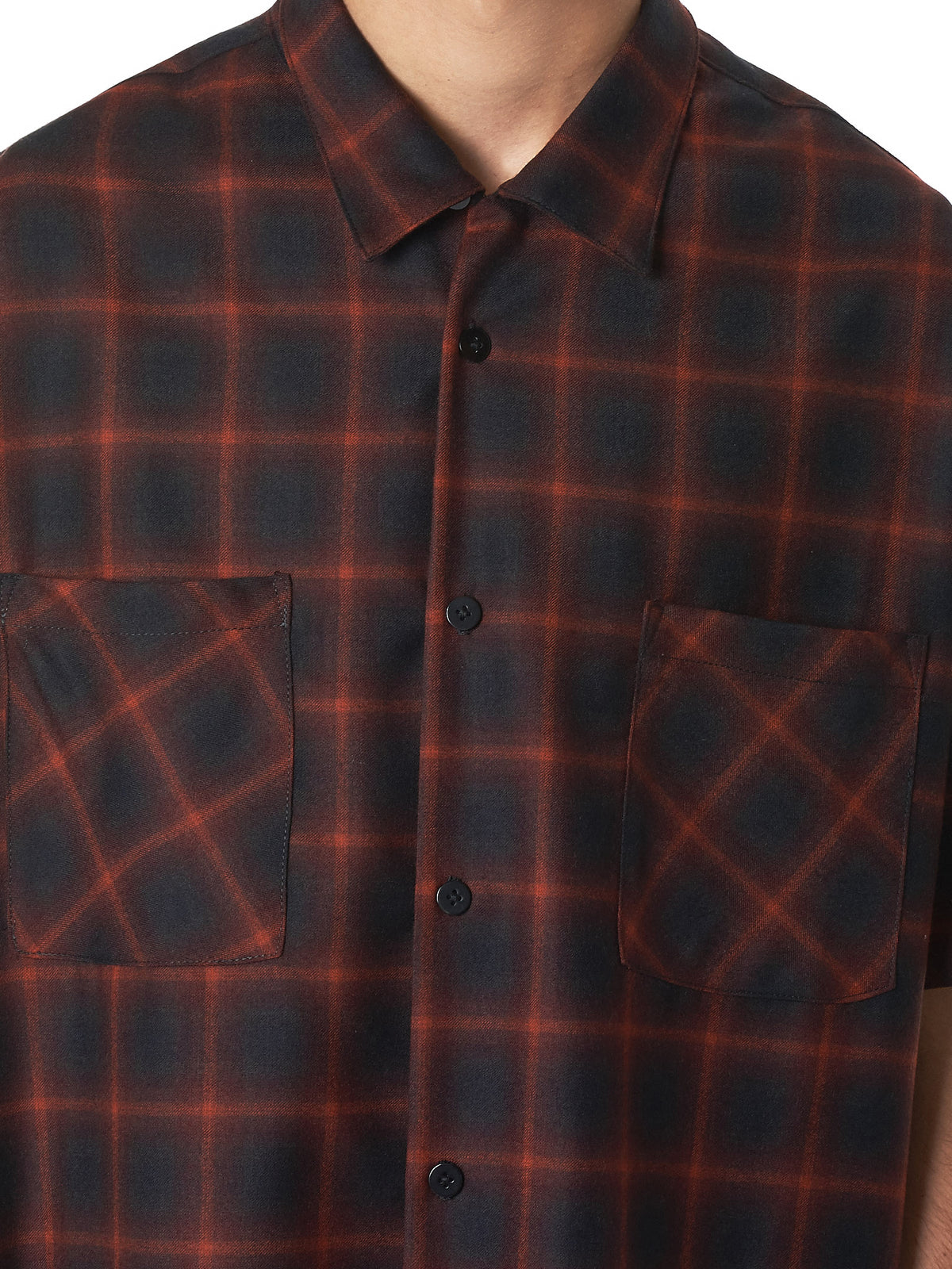 Nahmias Plaid Shirt - Hlorenzo detail 2