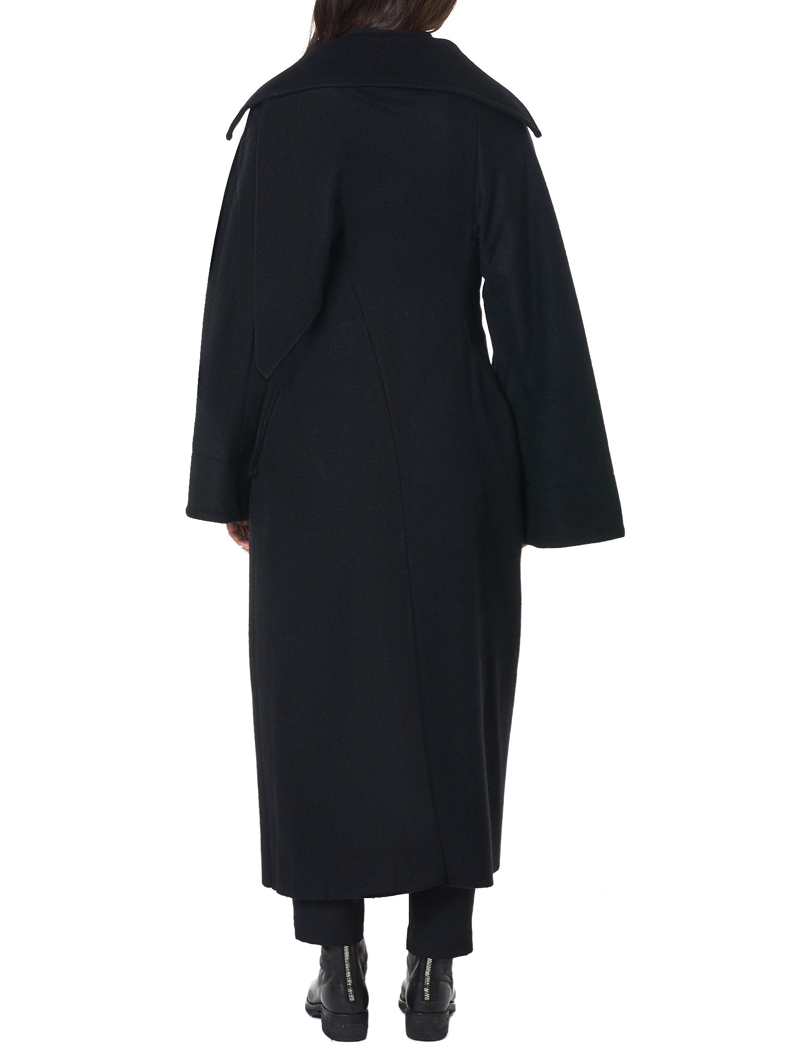 Double-Breasted Overcoat (FV-D02-106-BLACK)