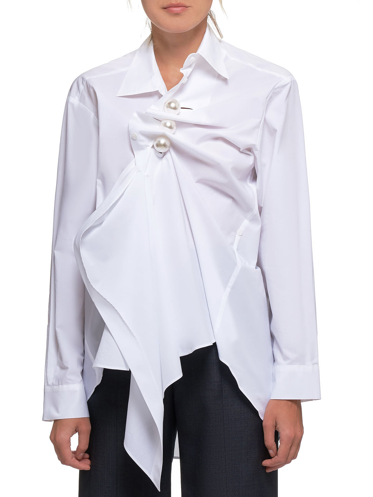Collared Shirt (FW19-SH08-WHITE)