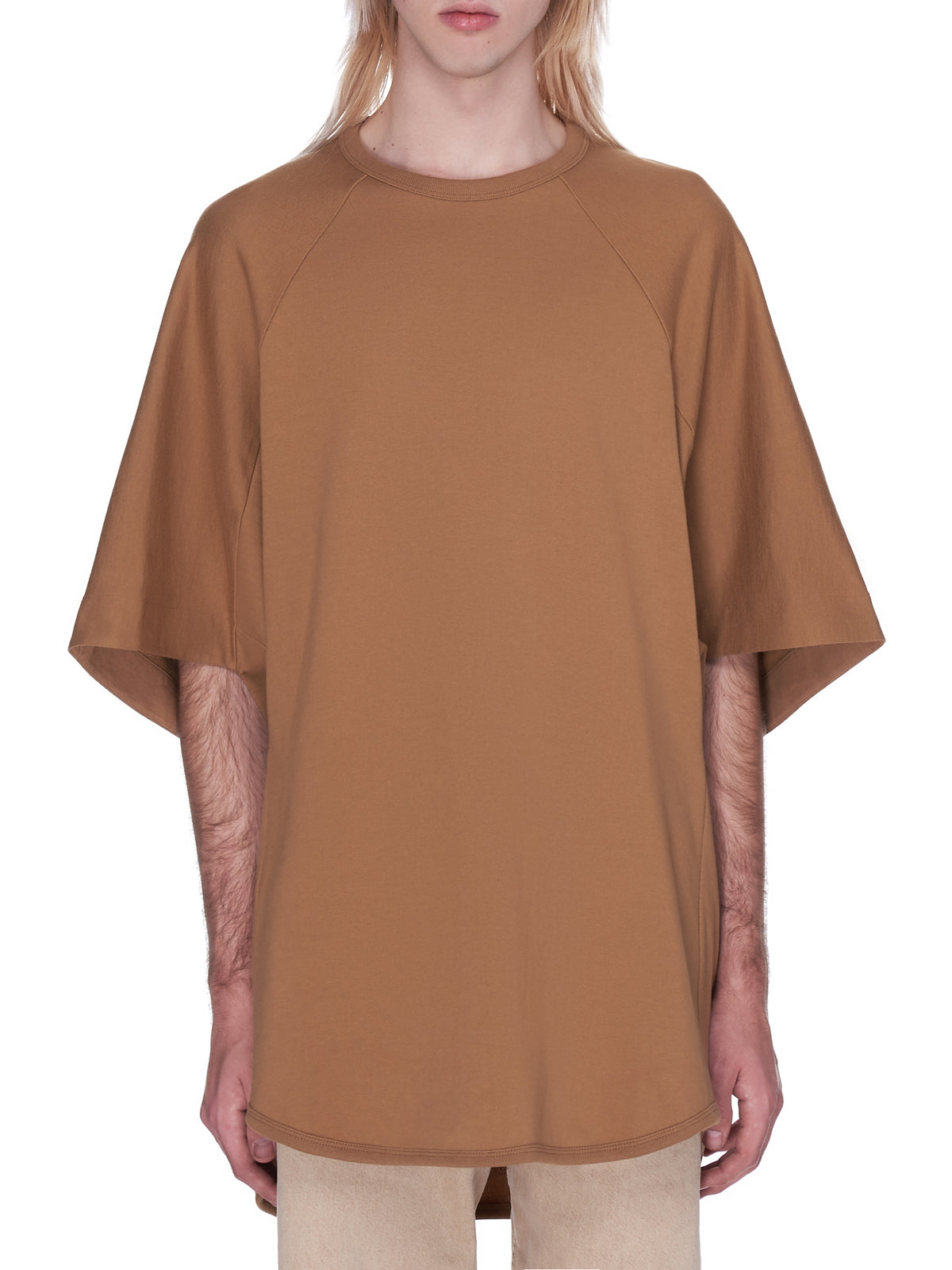 Oversized Terry Tee (G07B-BL42000-BROWN)