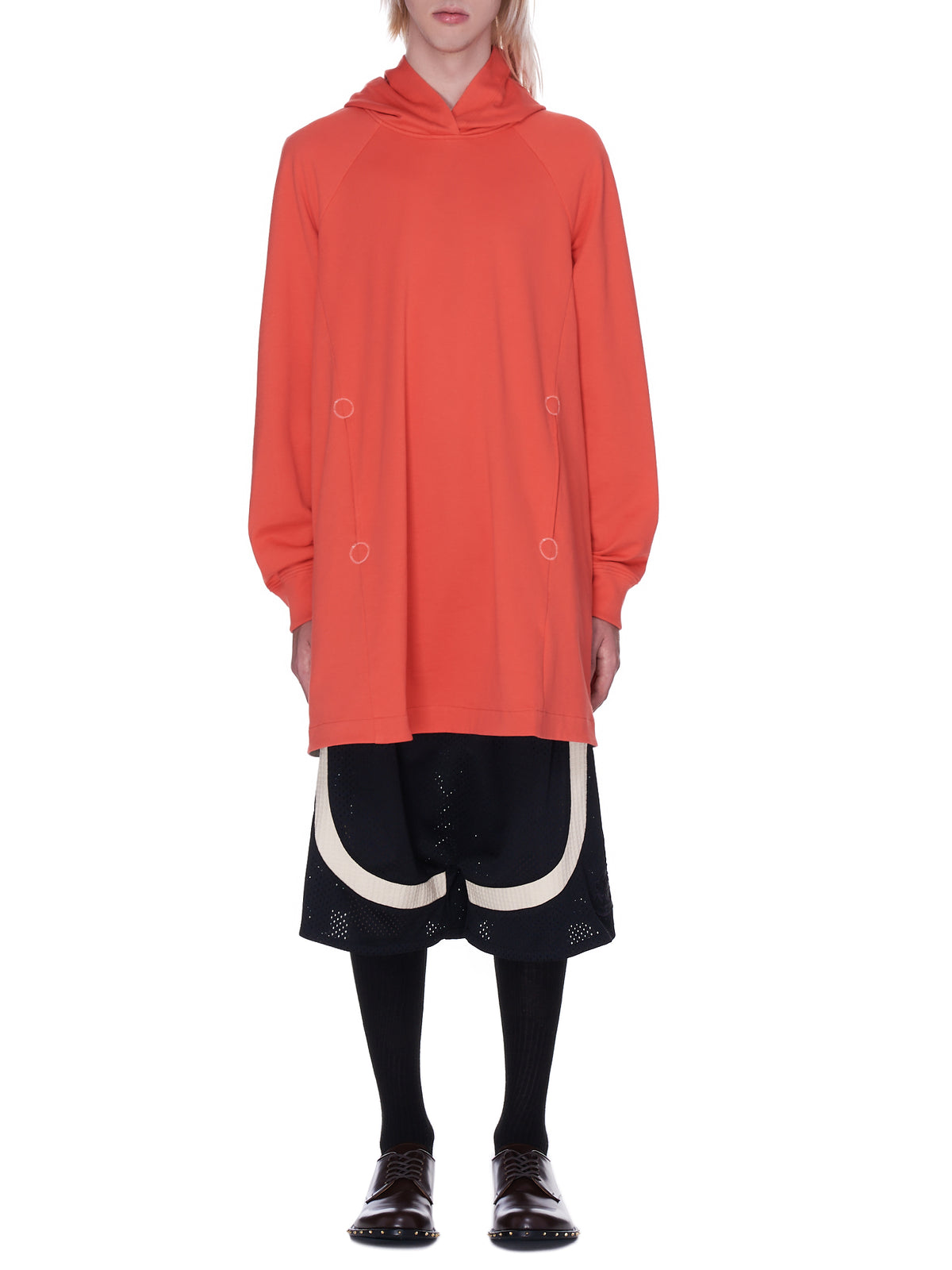 Oversized Patch Hoodie (G14B-BL42000-ORANGE)