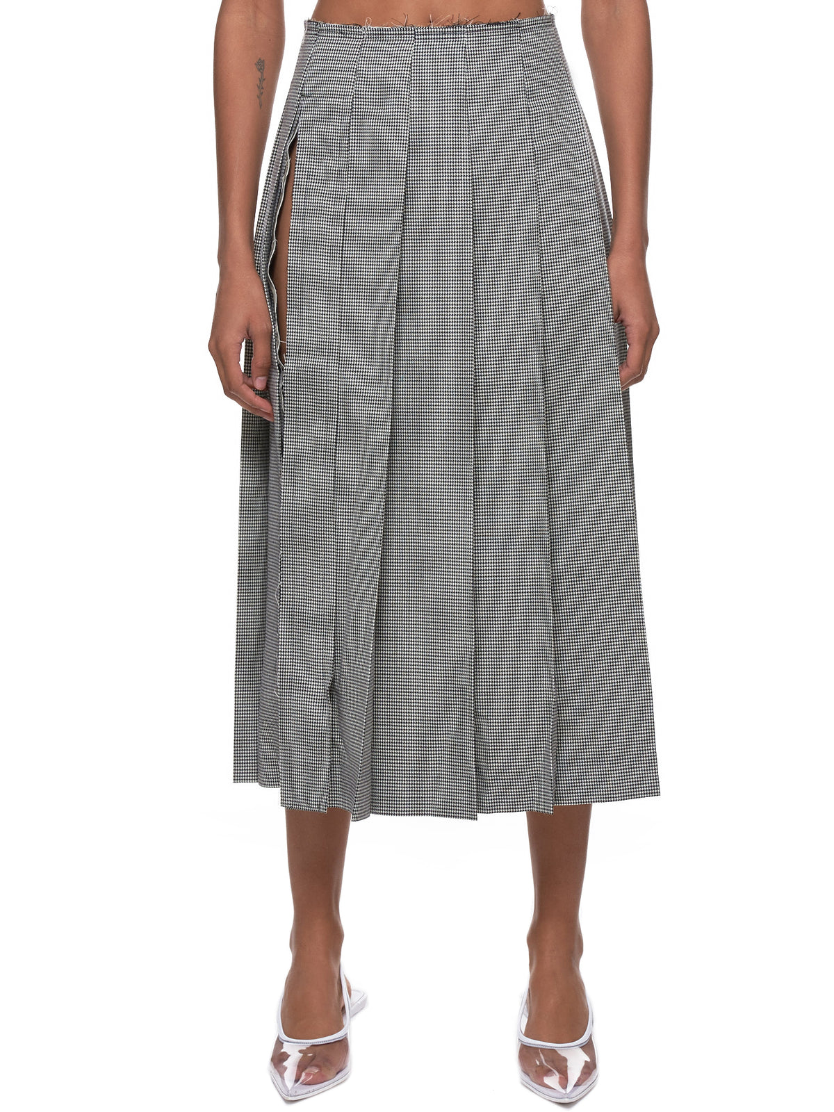 Houndstooth Skirt (GC-S003-051-HOUNDSTOOTH-CHECK)