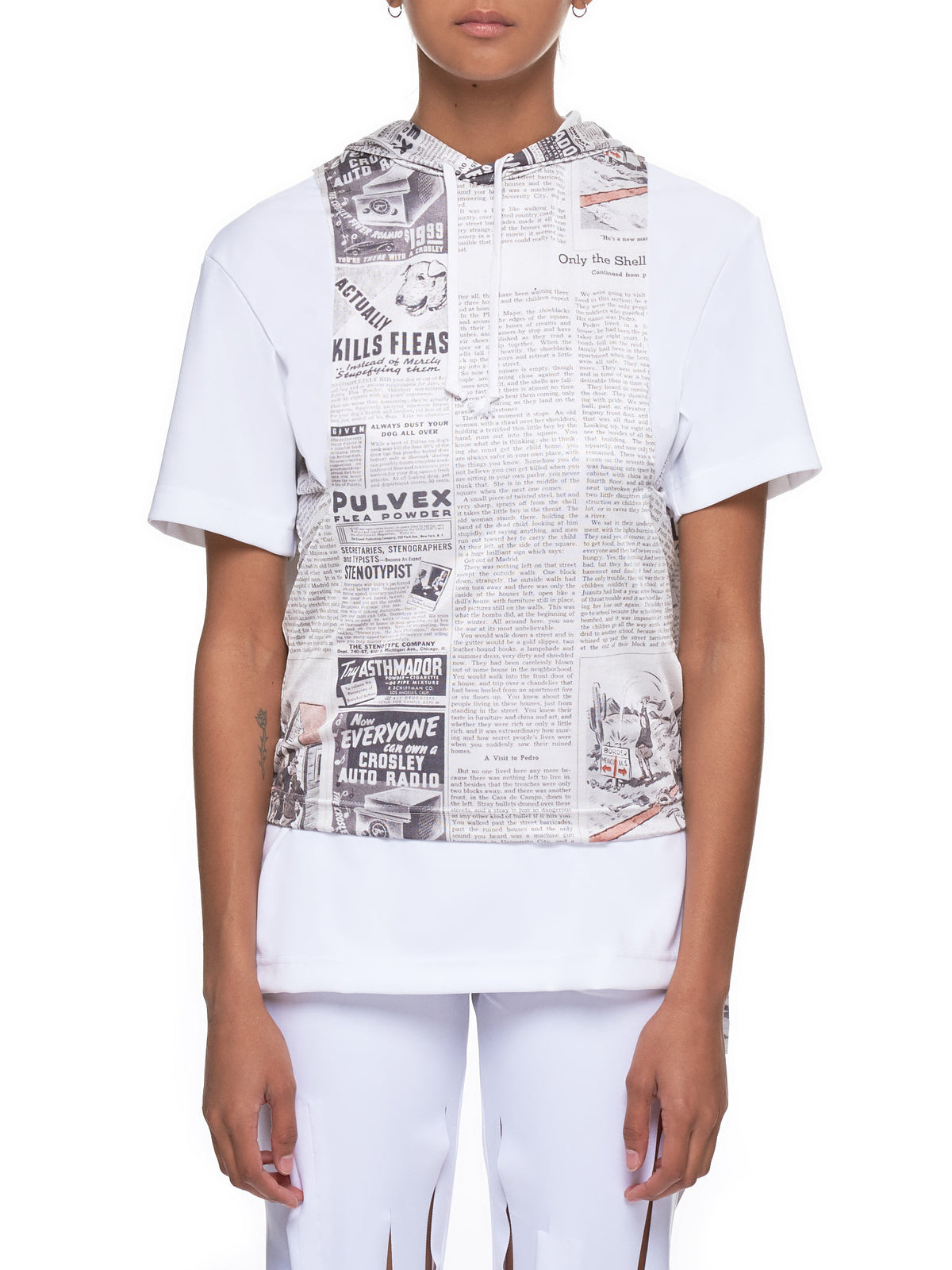 Comme Des Garcons Tee Shirt - Hlorenzo Front