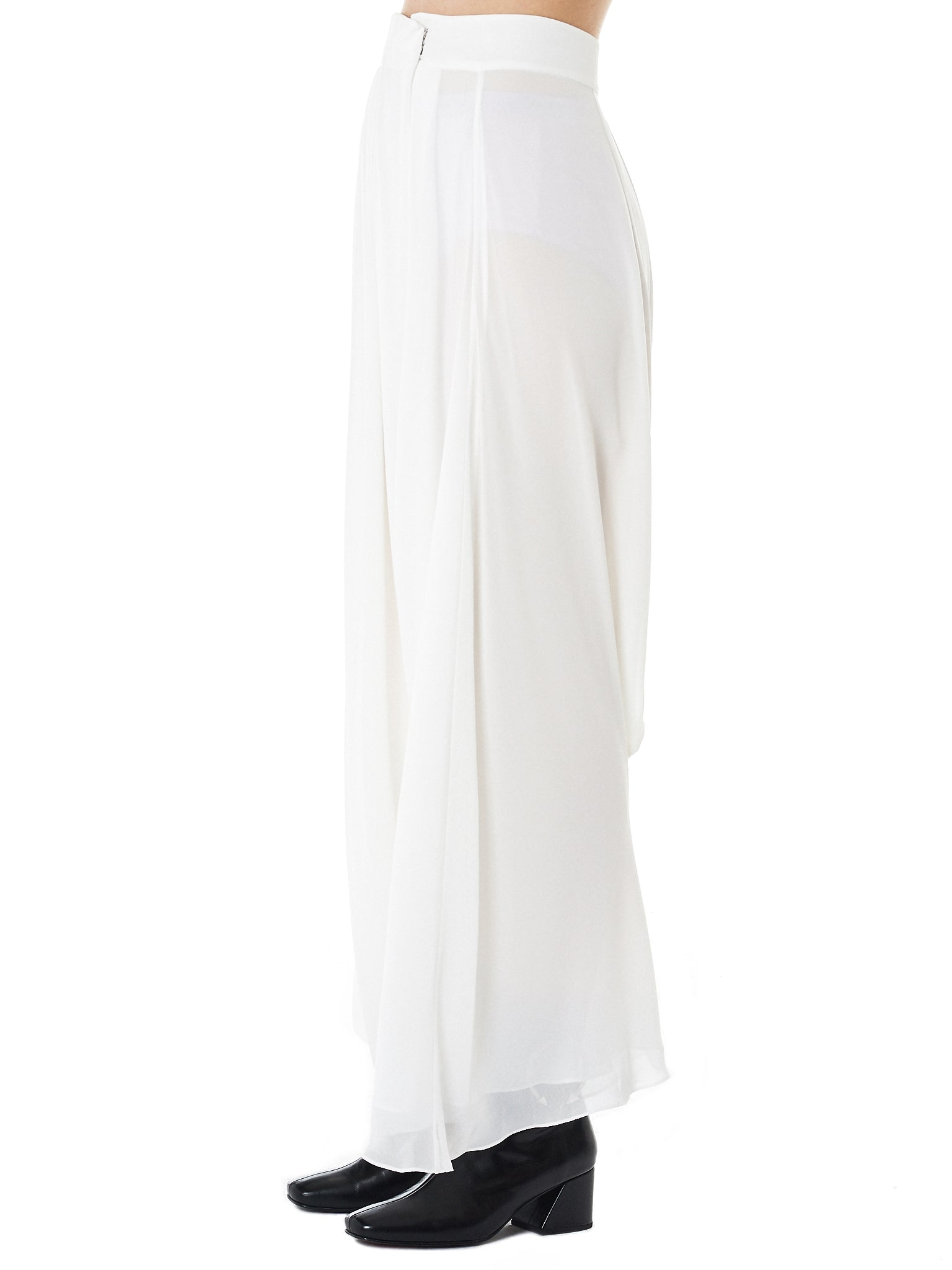 Draped Harem Trousers (GLS-PT83-IVORY)