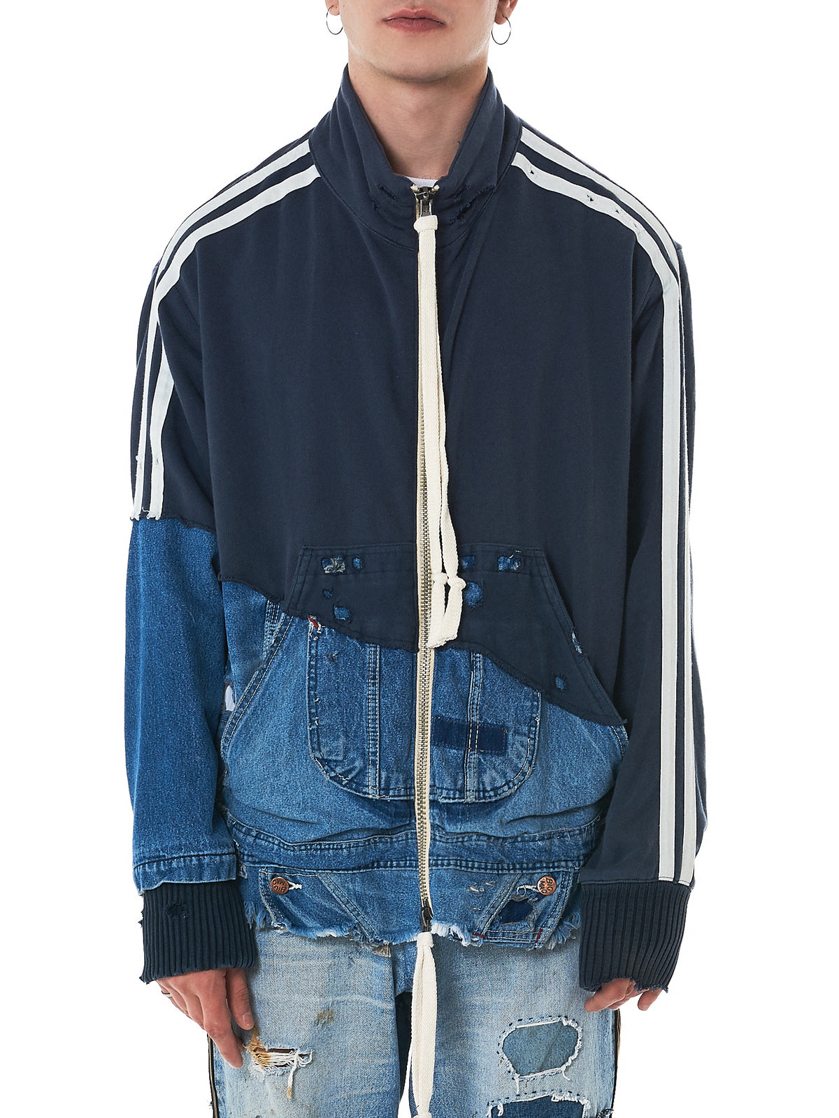 Greg Lauren Denim Jacket -HLorenzo Front