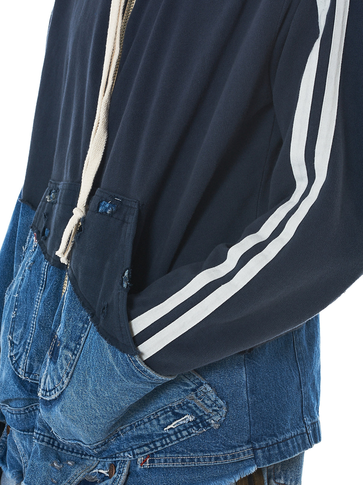 Greg Lauren Denim Jacket -HLorenzo Detail 2