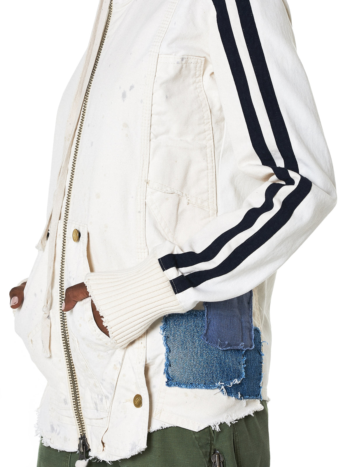 Greg Lauren Track Jacket - Hlorenzo Detail 2