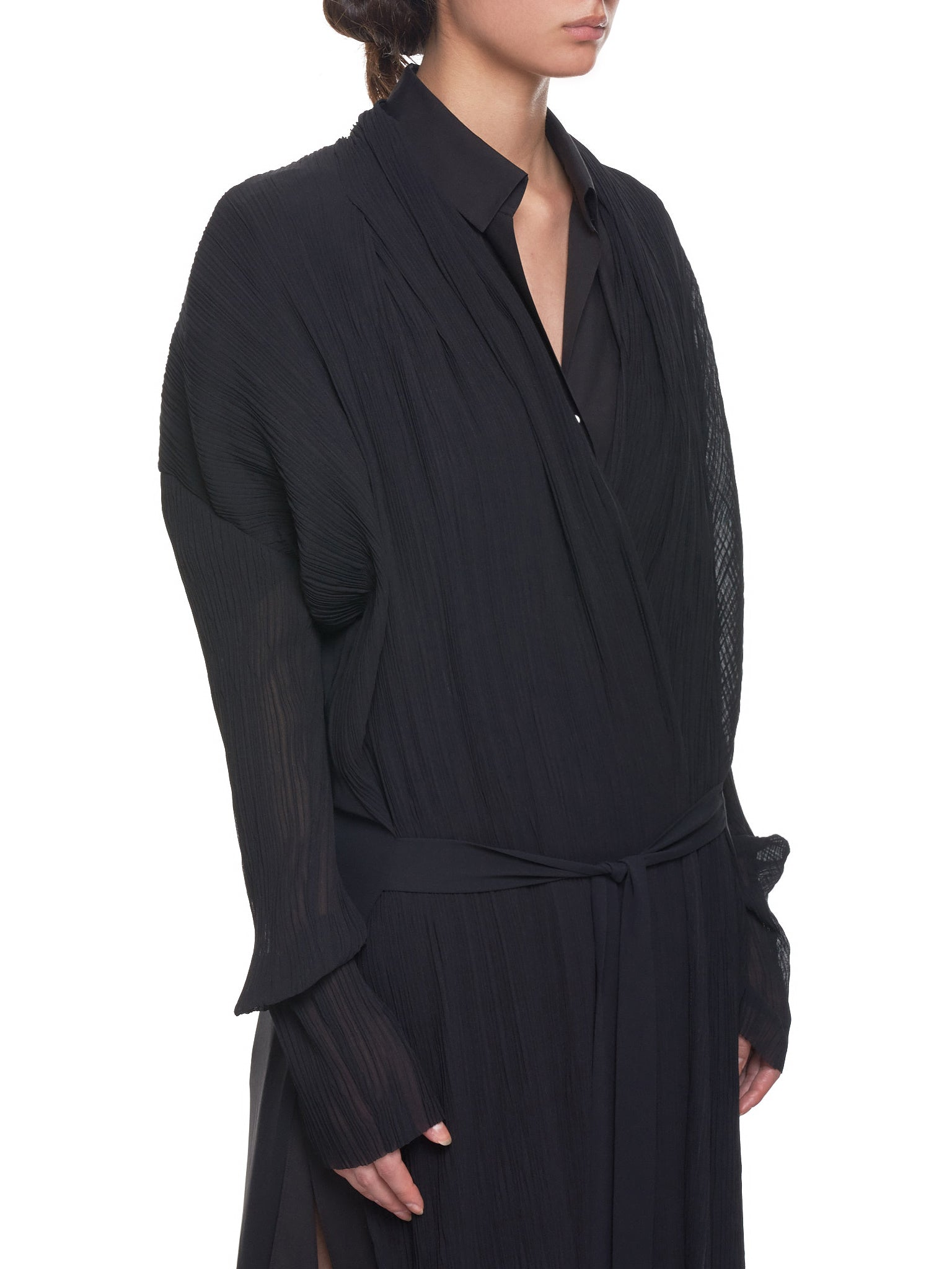 Pinched Duster (GNS-GD-143-BLACK)