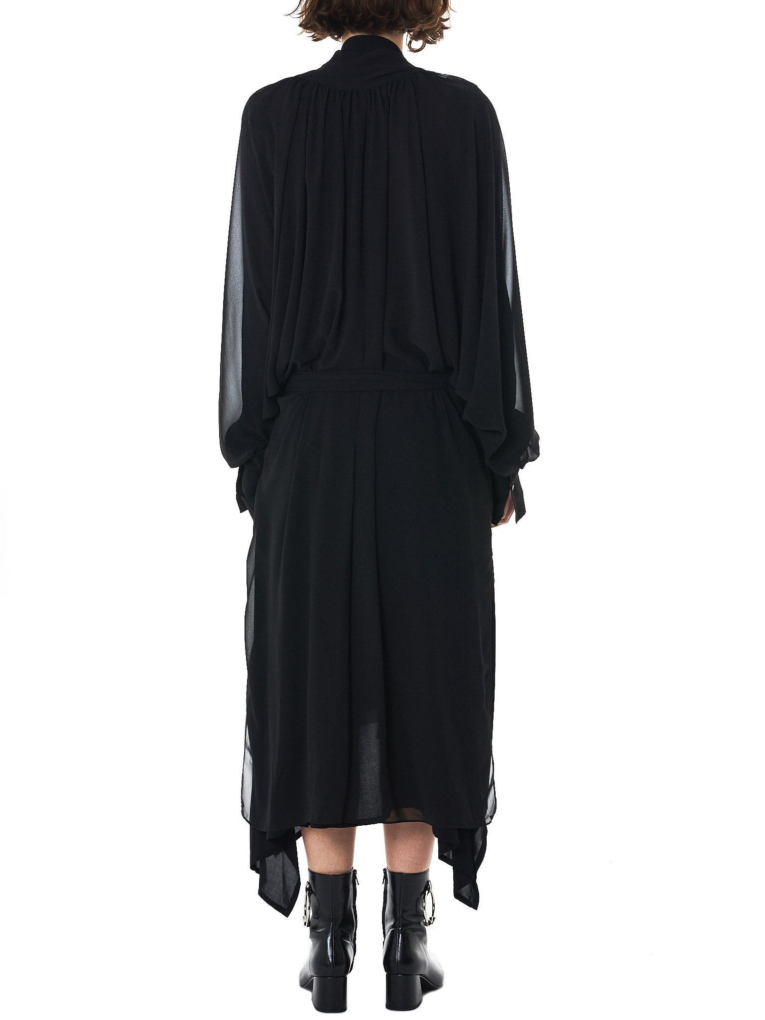 Long Cardigan (GNS-GD146-BLACK)
