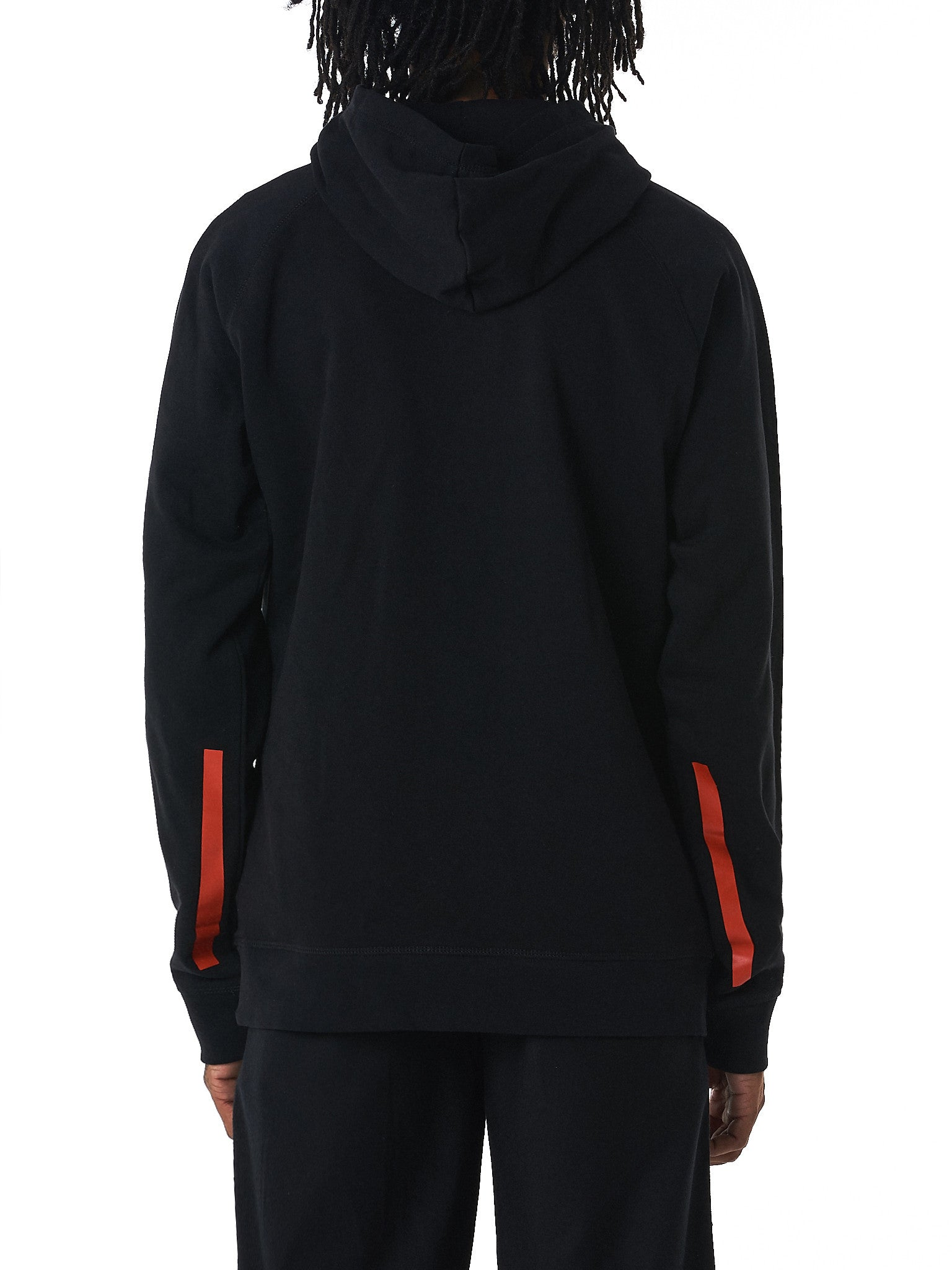 GEO 'Godspeed' hooded sweater hlorenzo back view