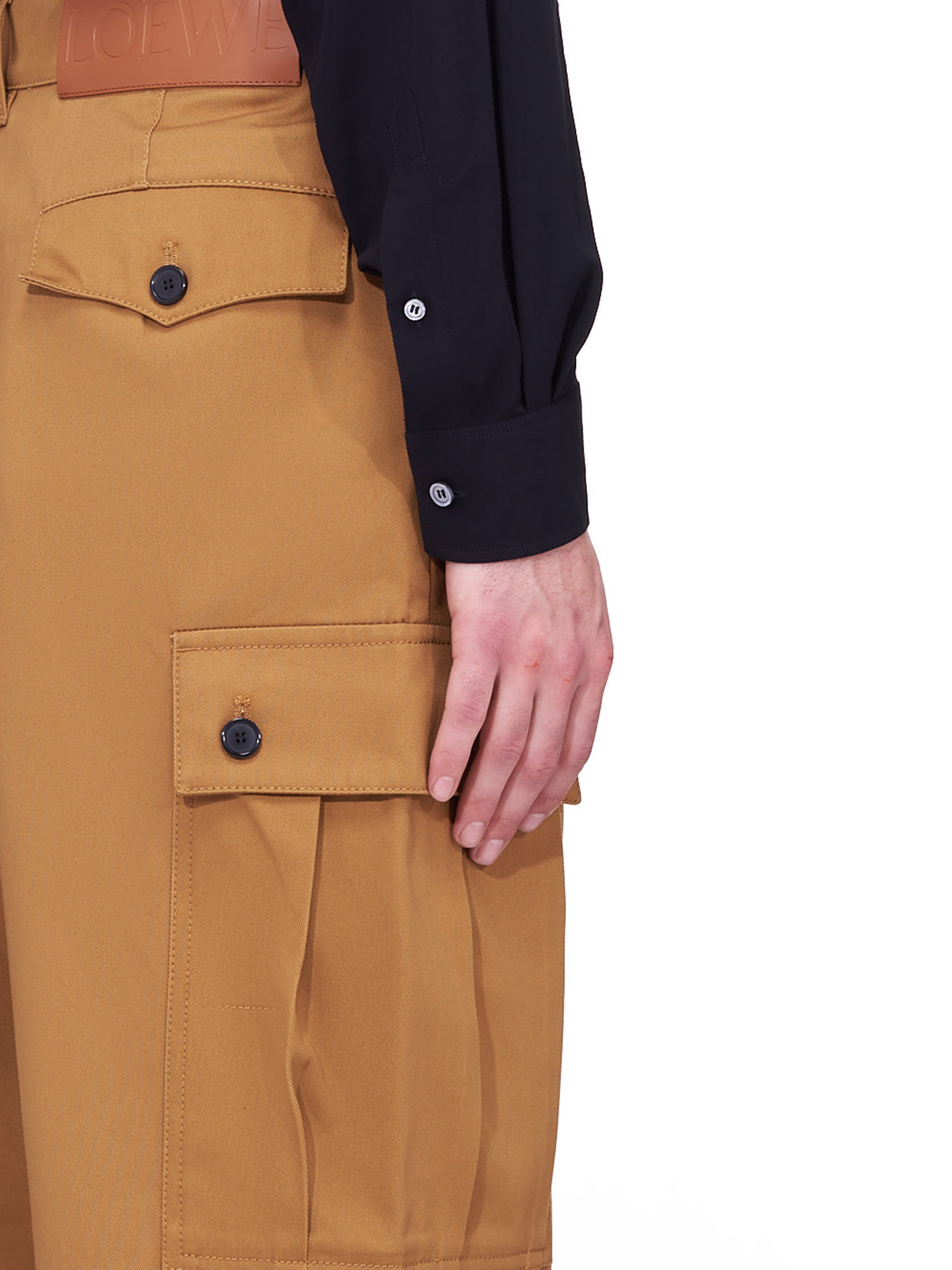 Cargo Pocket Trousers (H526Y04W013-CAMEL)