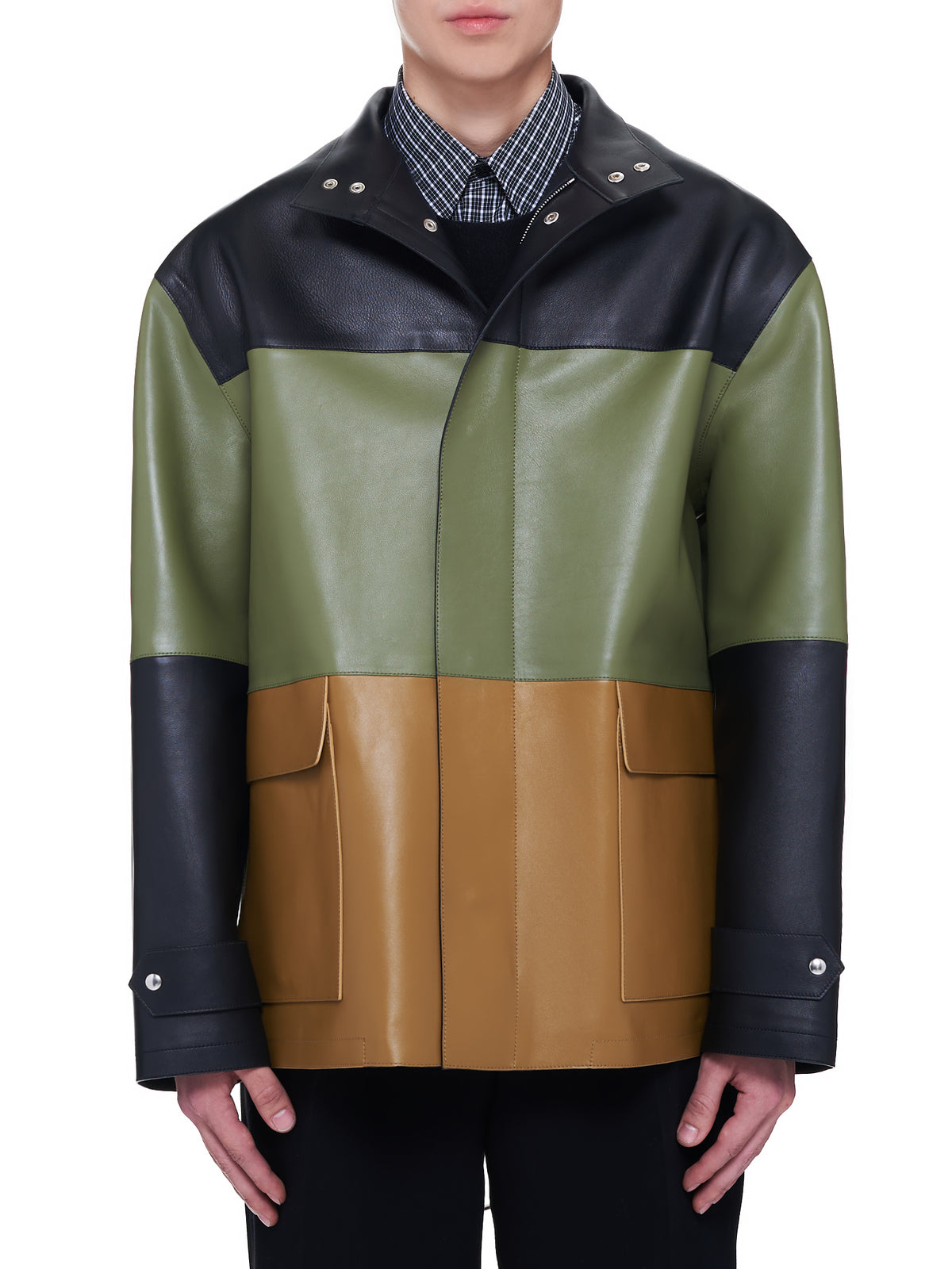 Loewe Leather Jacket | H.Lorenzo Front