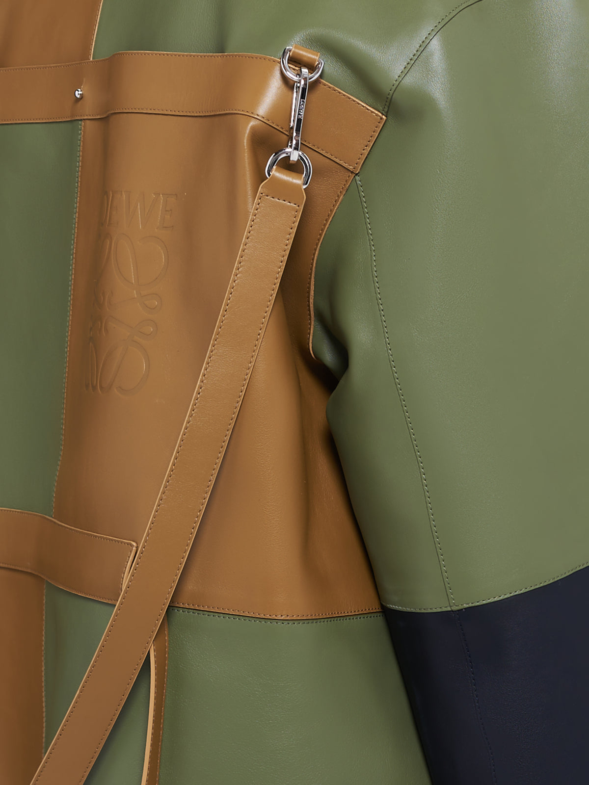 Loewe Leather Jacket | H.Lorenzo Detail 2