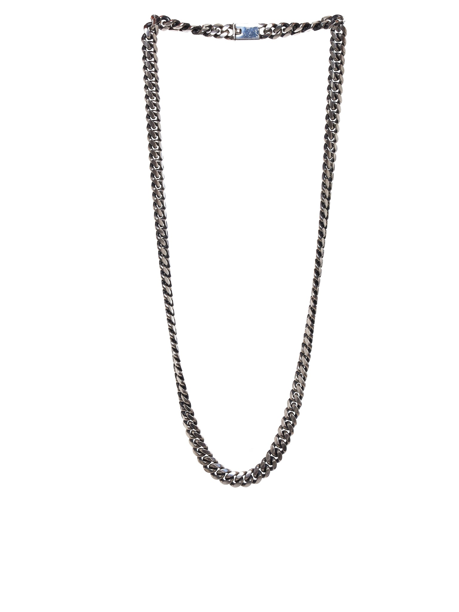 Chain-Link Necklace (HAIVE-MALO-SILVERCAMEL-BONE)