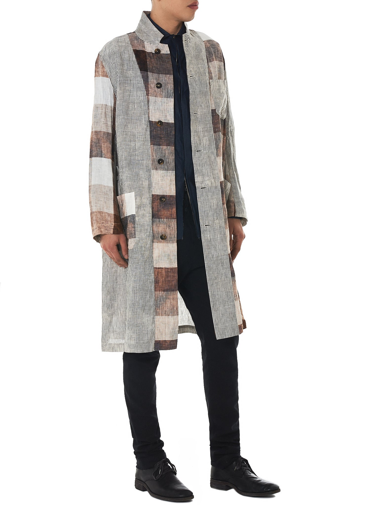 Forme D'Expression Check Coat - Hlorenzo Style