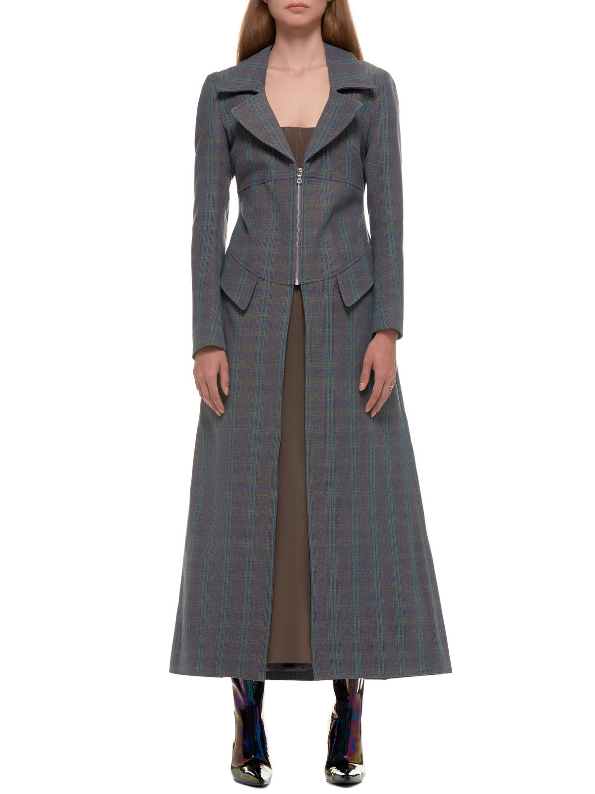 Charlotte Knowles Coat | H.Lorenzo - front