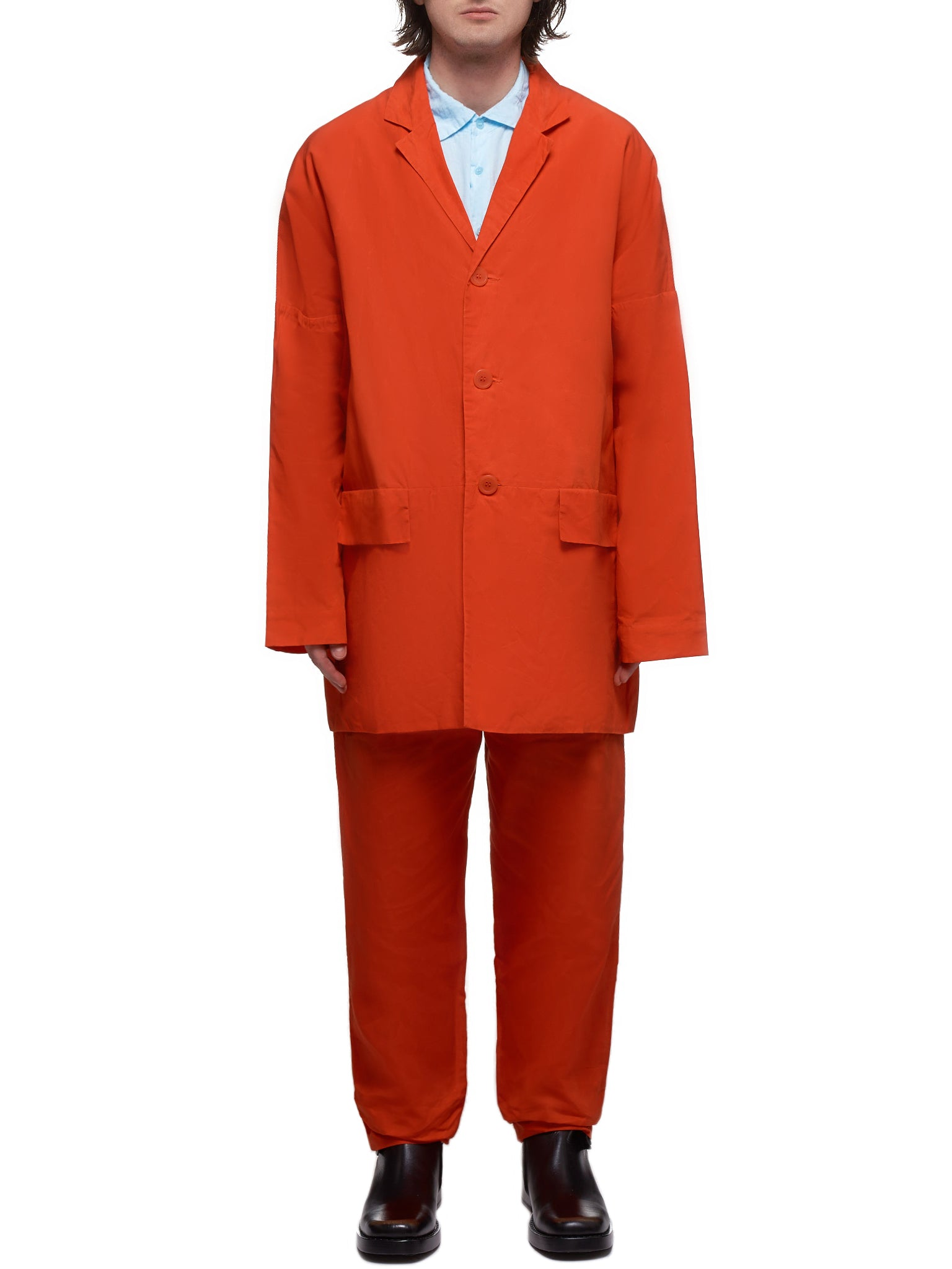 Crinkled Coat (HM93-ORANGE)