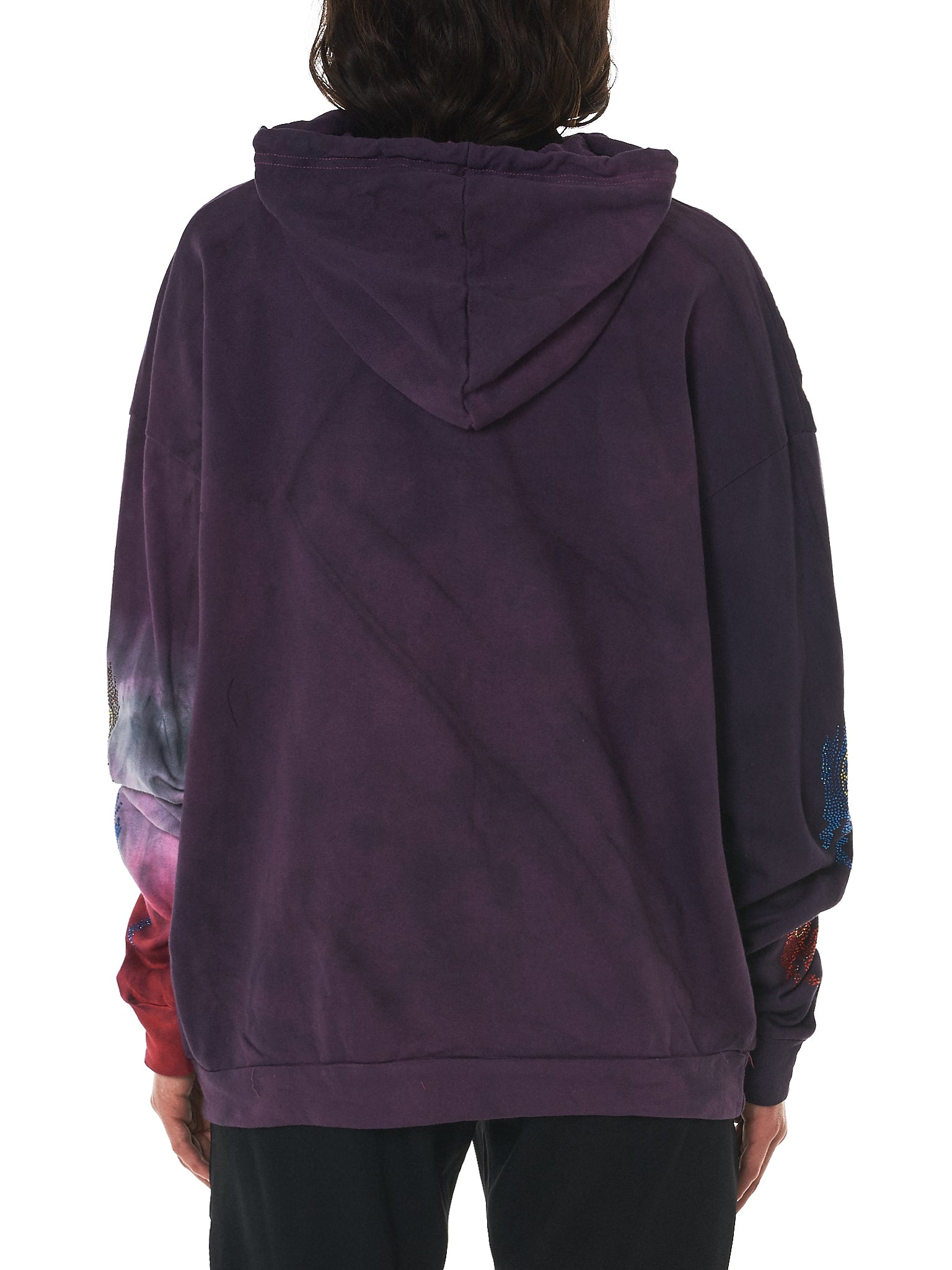 Claire Barrow Hooded Pullover - Hlorenzo Back