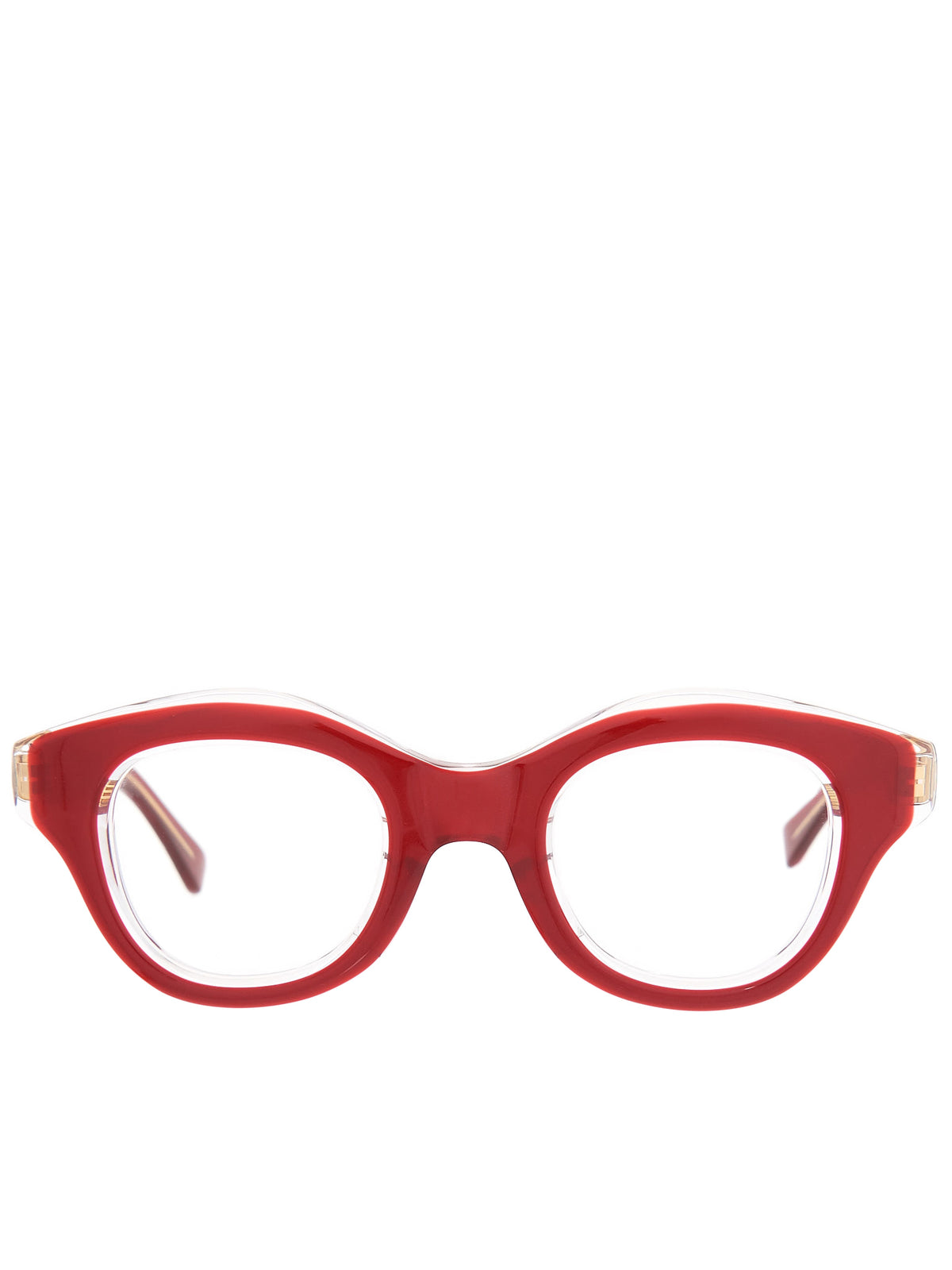 Hook Eyeglasses (HOOK-WINE-CLEAR-CLEAR)