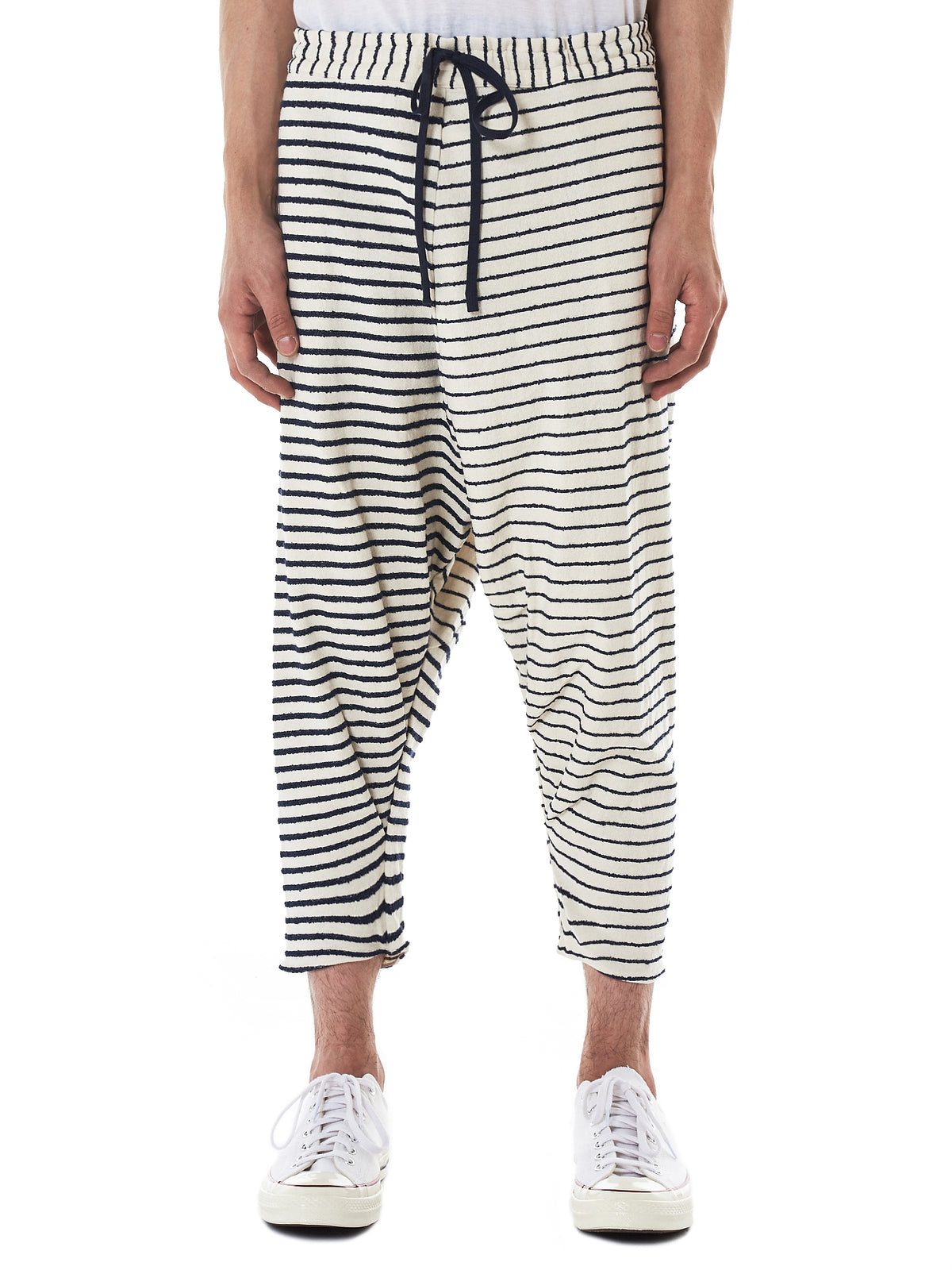 Forme D'Expression Stripe Trousers - Hlorenzo Front