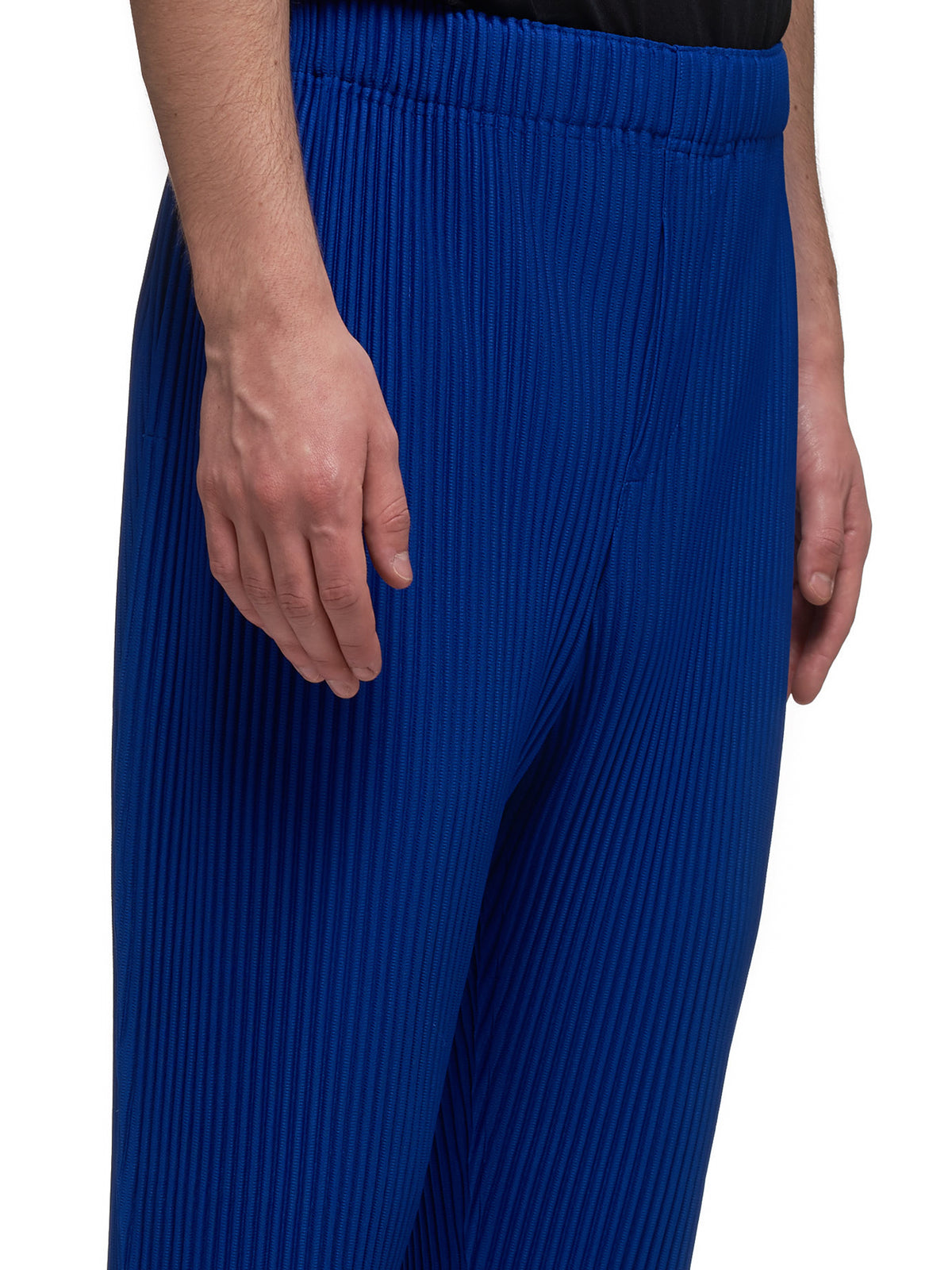 Pleated Trousers (HP06JF107-BLUE)