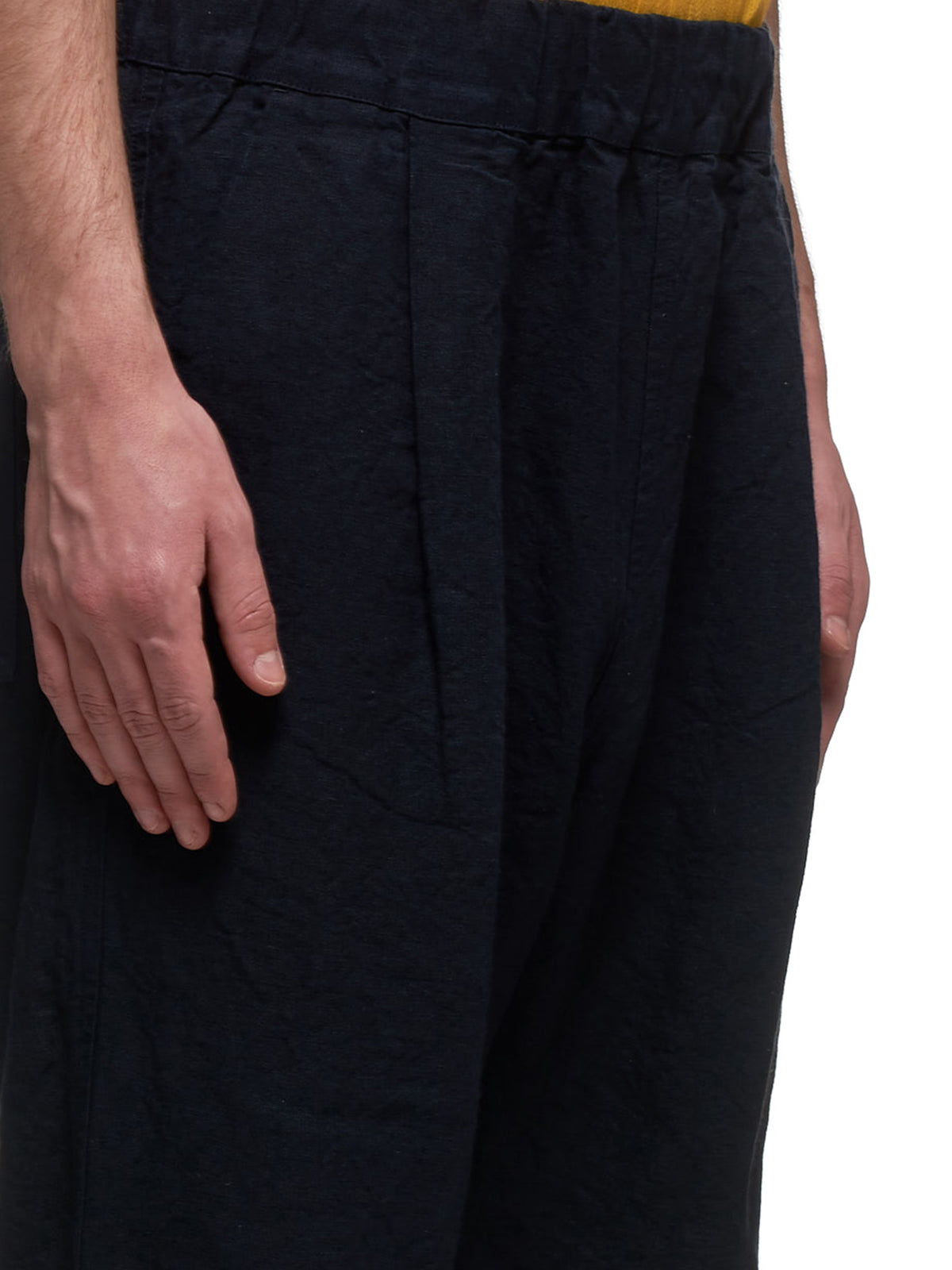 Linen Trousers (HP170-DARK-NAVY)