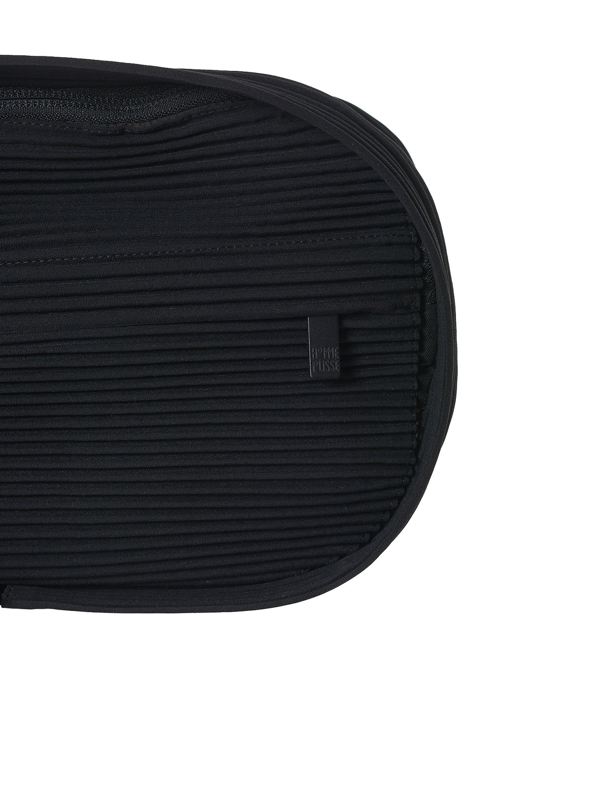 Plissé Waist Bag (HP96AG536-BLACK)