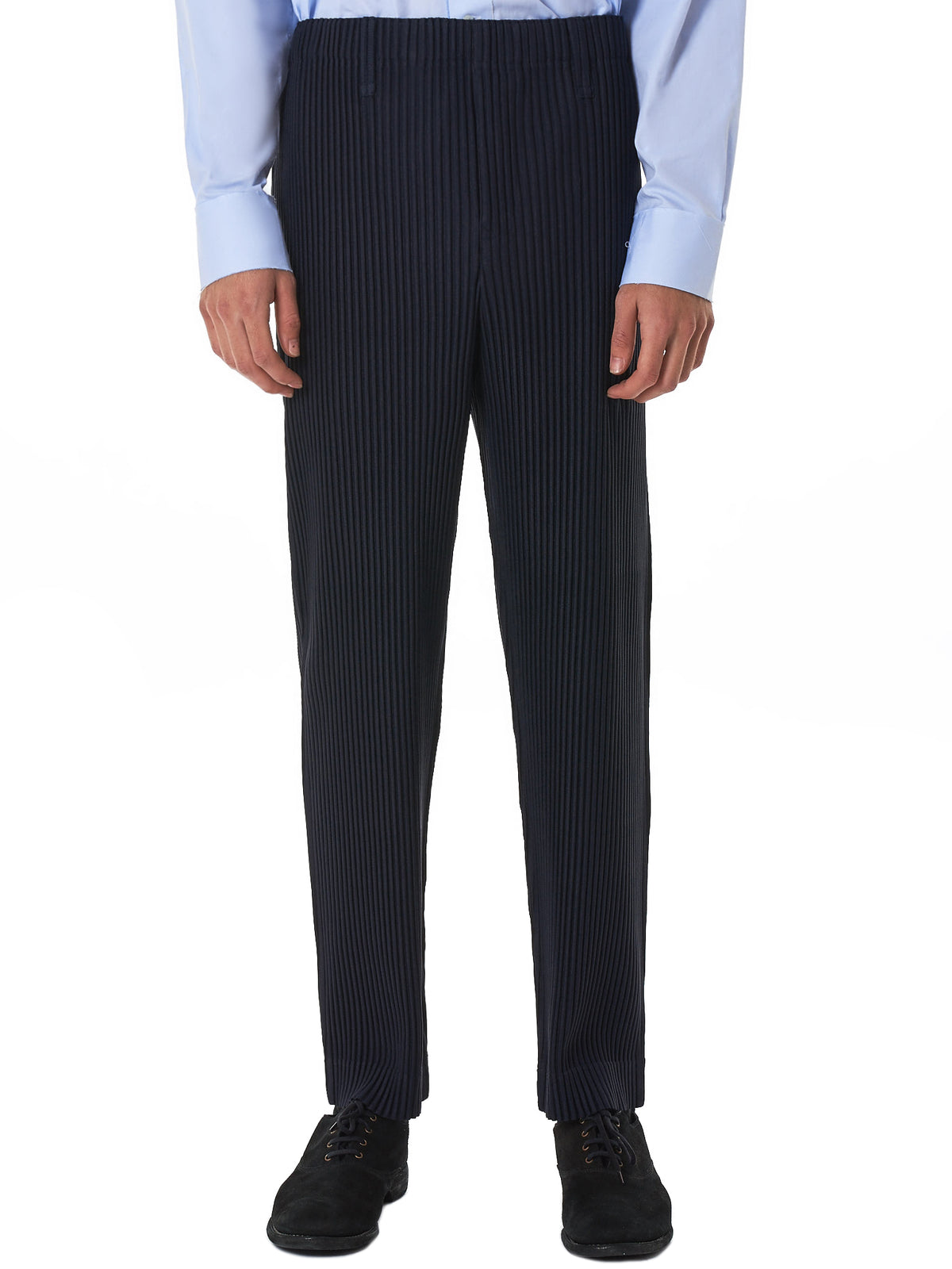 Issey Miyake Homme Plissé Trouser - Hlorenzo Front