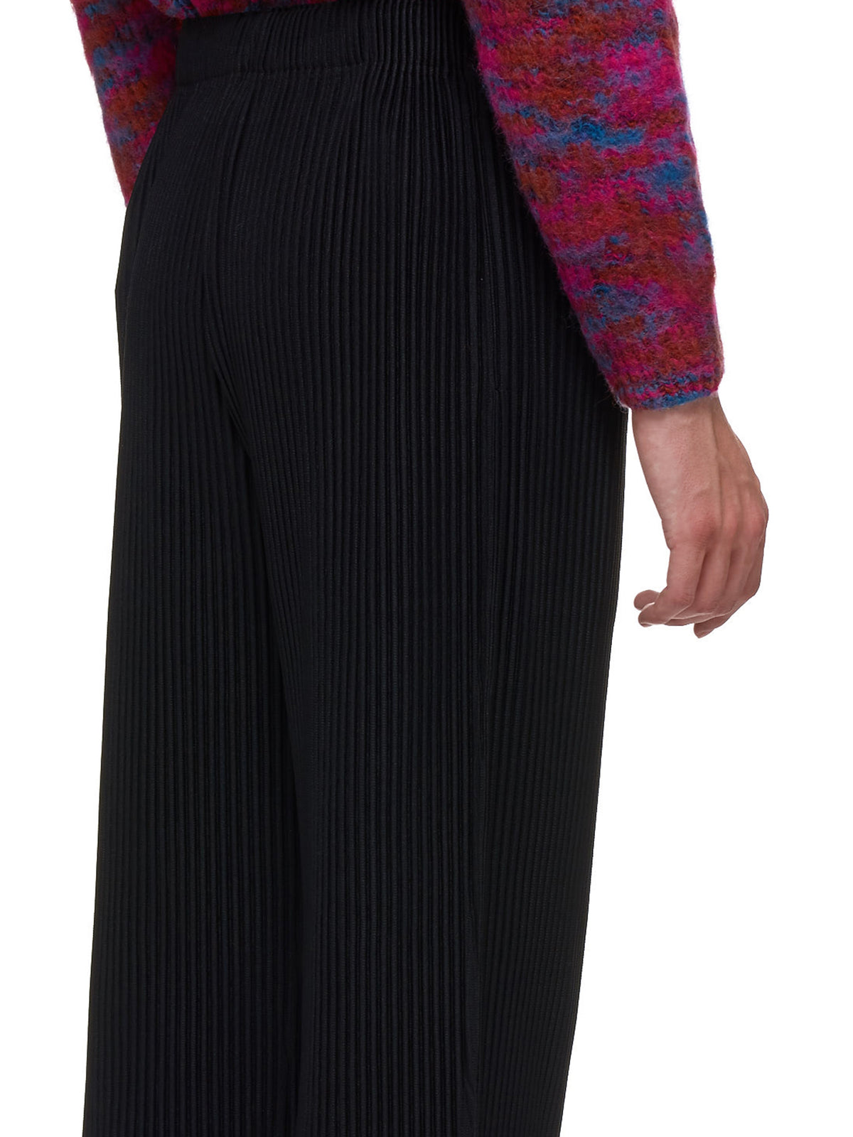 Pleated Trousers (HP98JF124-BLACK)
