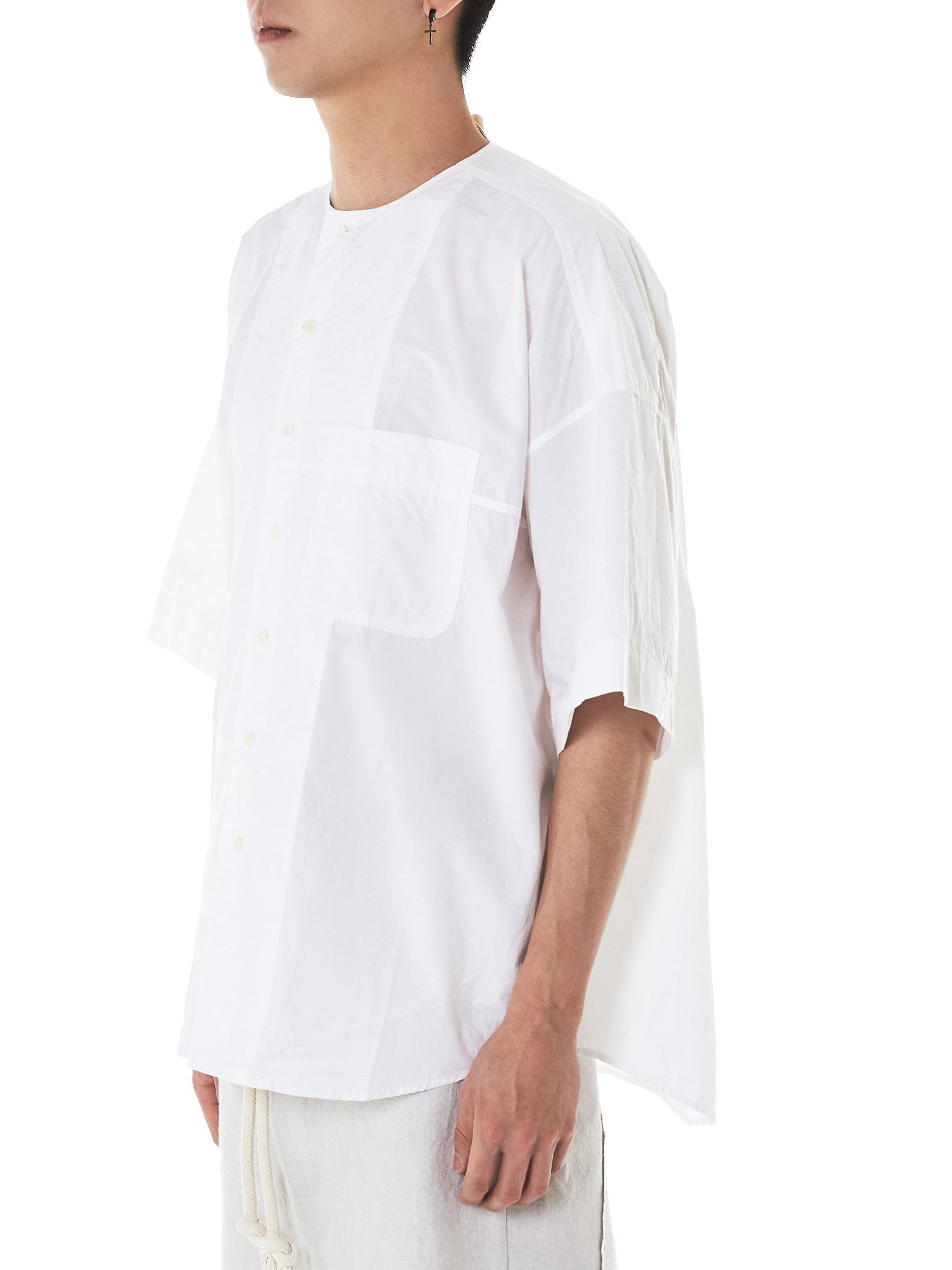 Forme D'Expression Linen Shirt - Hlorenzo Side