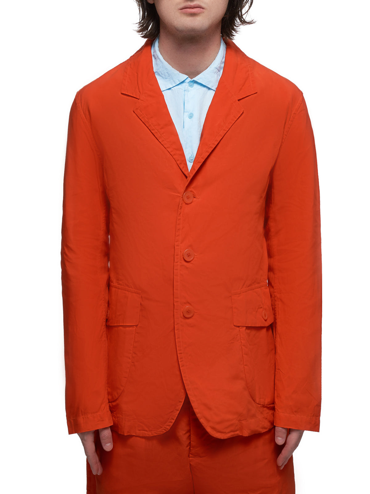 Crinkled Jacket (HV218-ORANGE)
