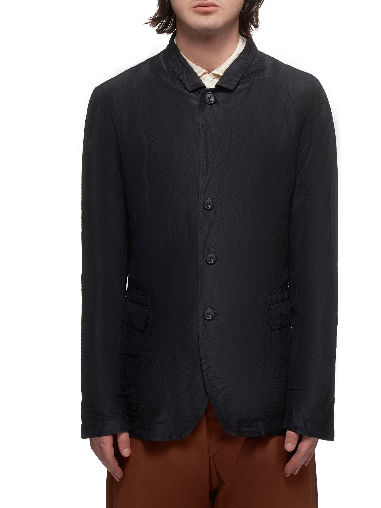 Blazer Shirt (HV220-BLACK)